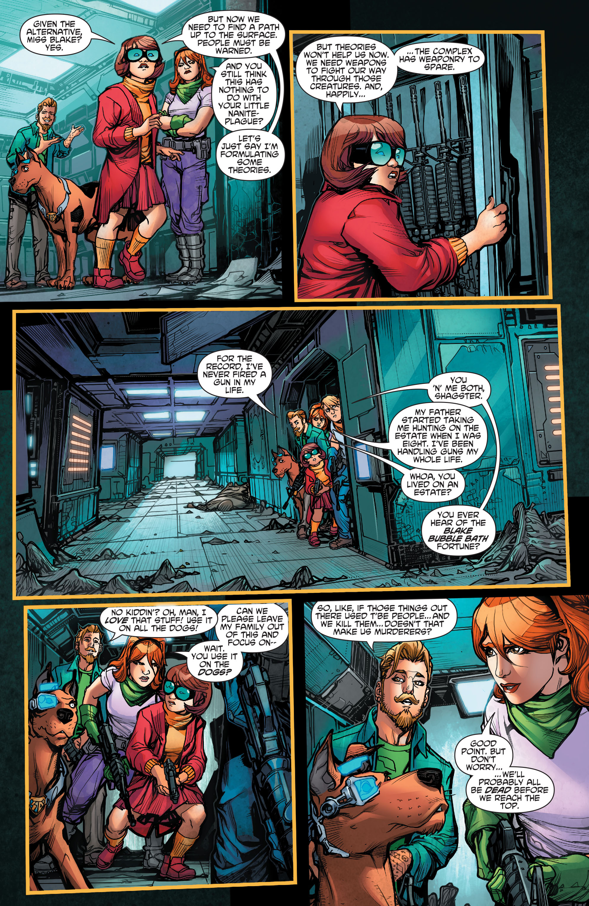 Read online Scooby Apocalypse comic -  Issue #2 - 15