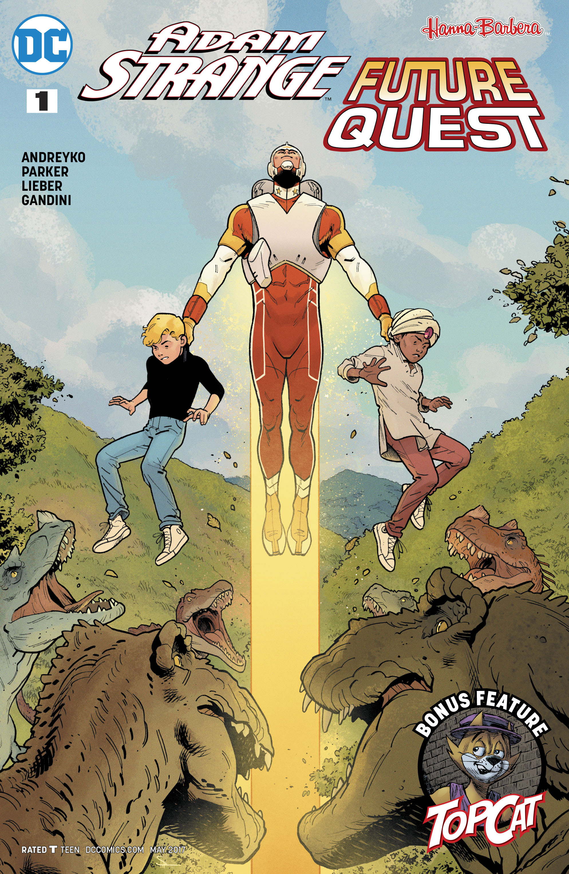 Adam Strange/Future Quest Special Full Page 1