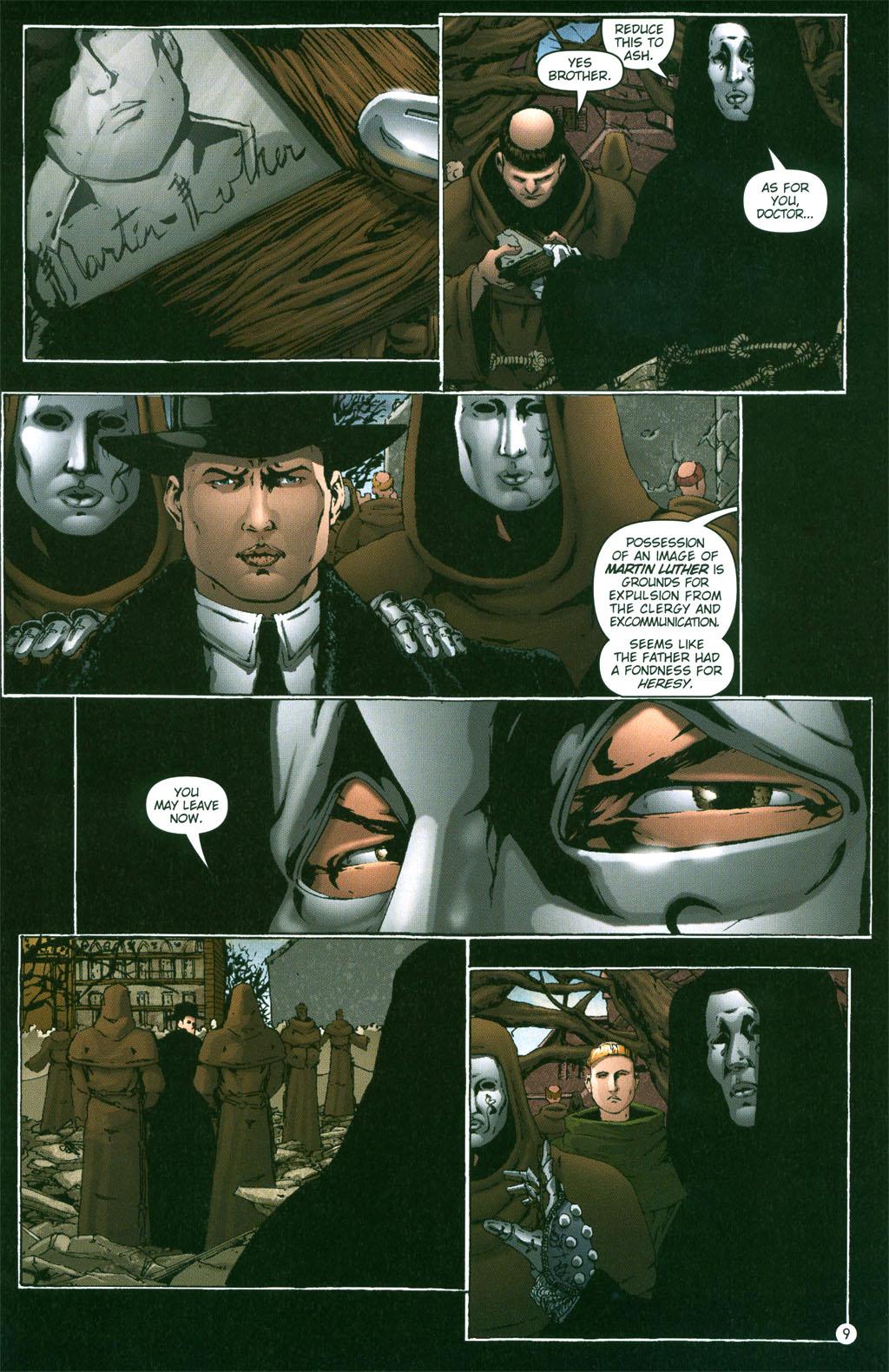 Read online Rex Mundi comic -  Issue #2 - 10