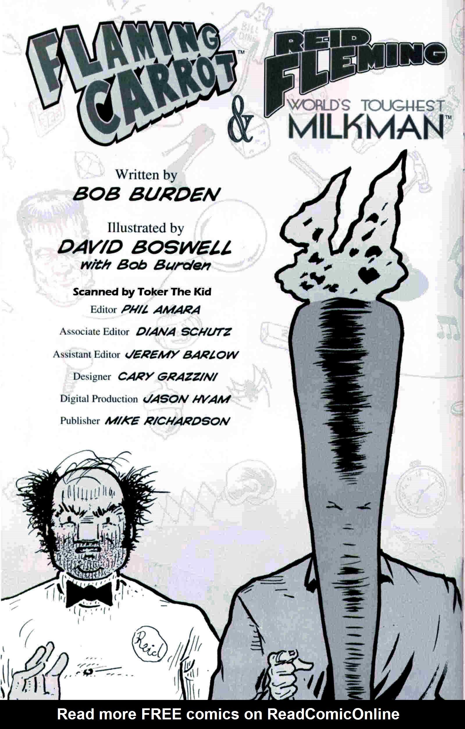 Read online Flaming Carrot & Reid Fleming, World's Toughest Milkman comic -  Issue # Full - 36