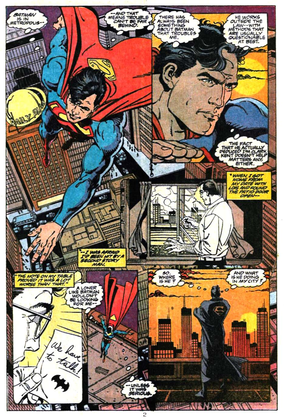 Read online Adventures of Superman (1987) comic -  Issue #467 - 4