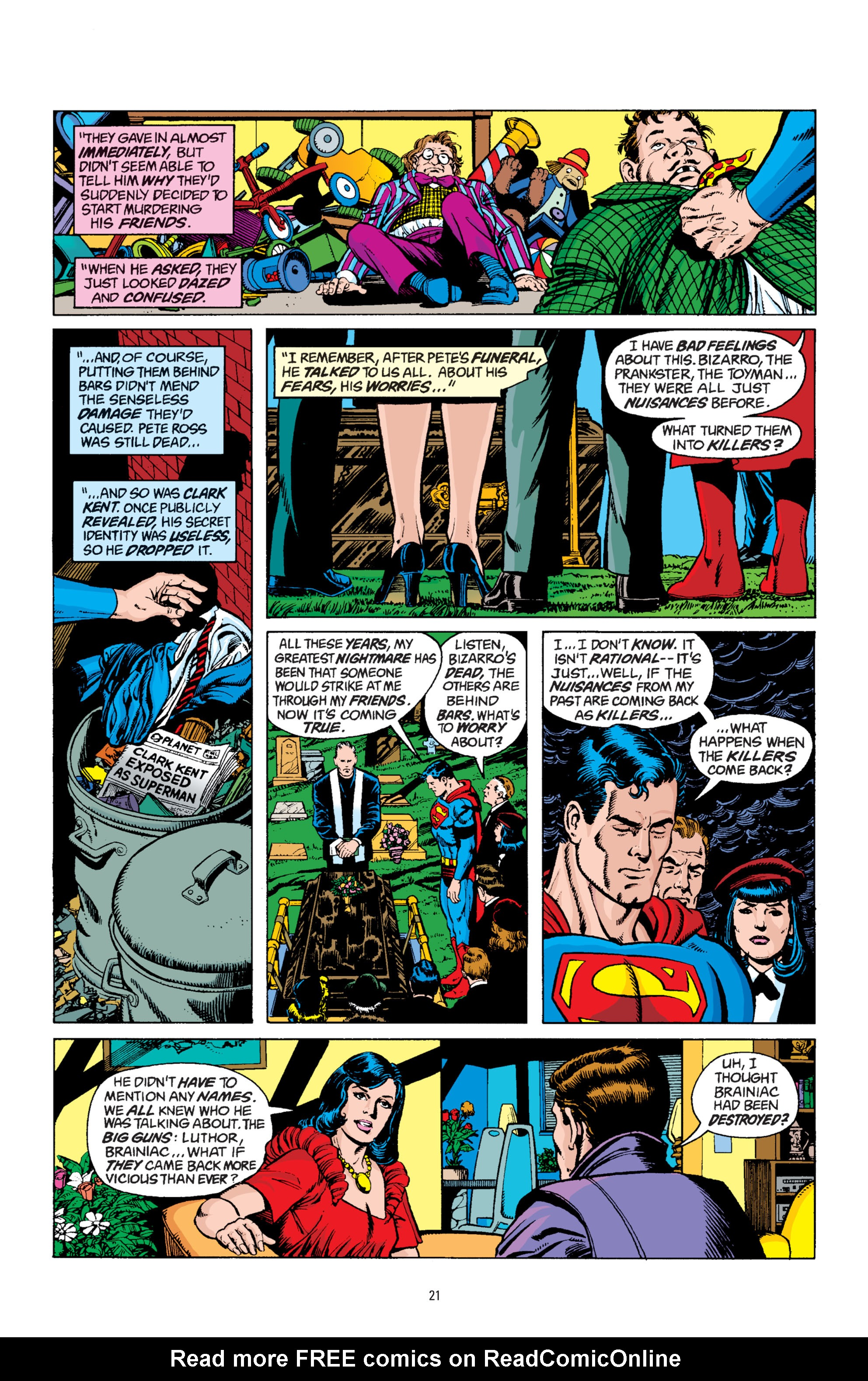 Read online Superman: Whatever Happened to the Man of Tomorrow? comic -  Issue # TPB - 20