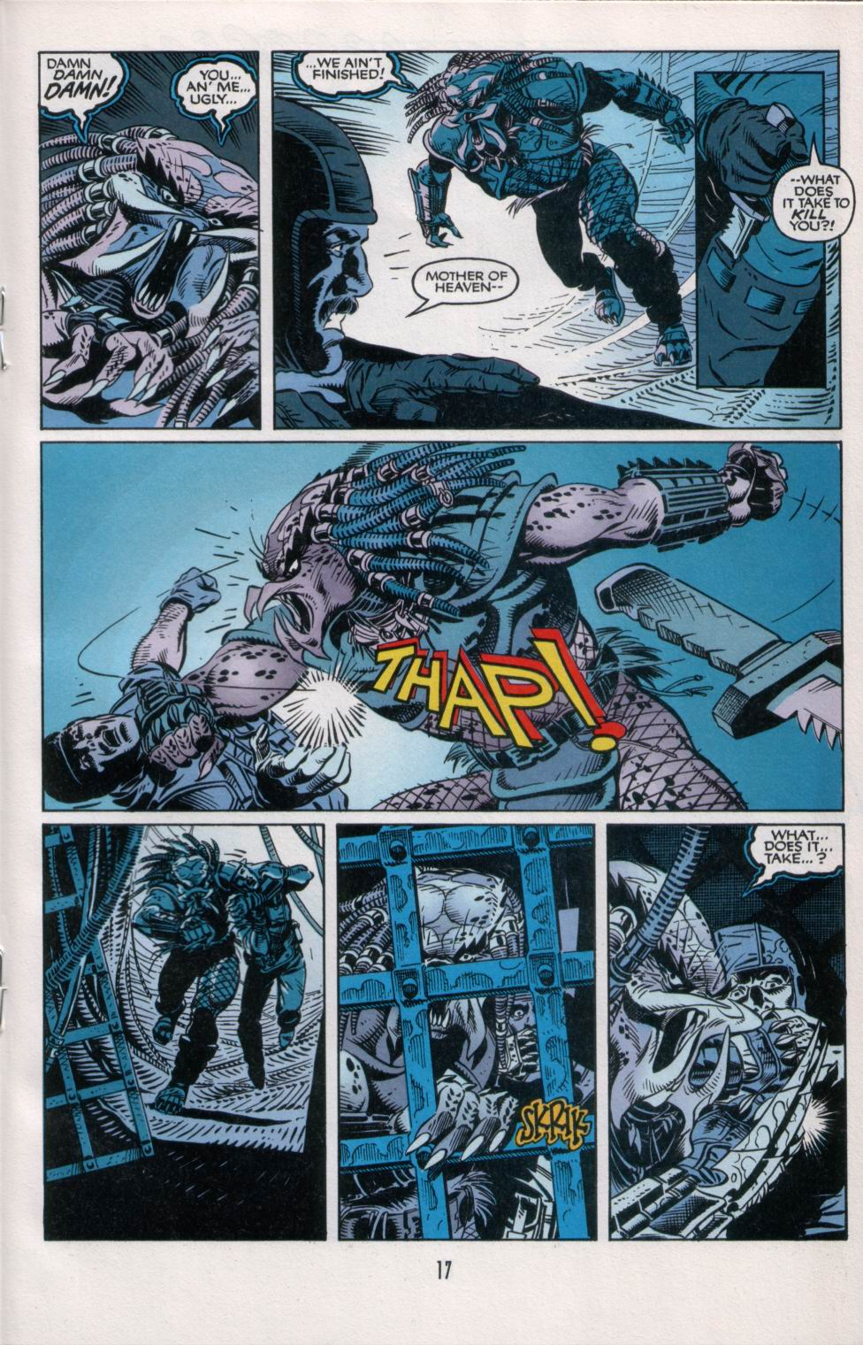 Read online Aliens/Predator: The Deadliest of the Species comic -  Issue #6 - 19