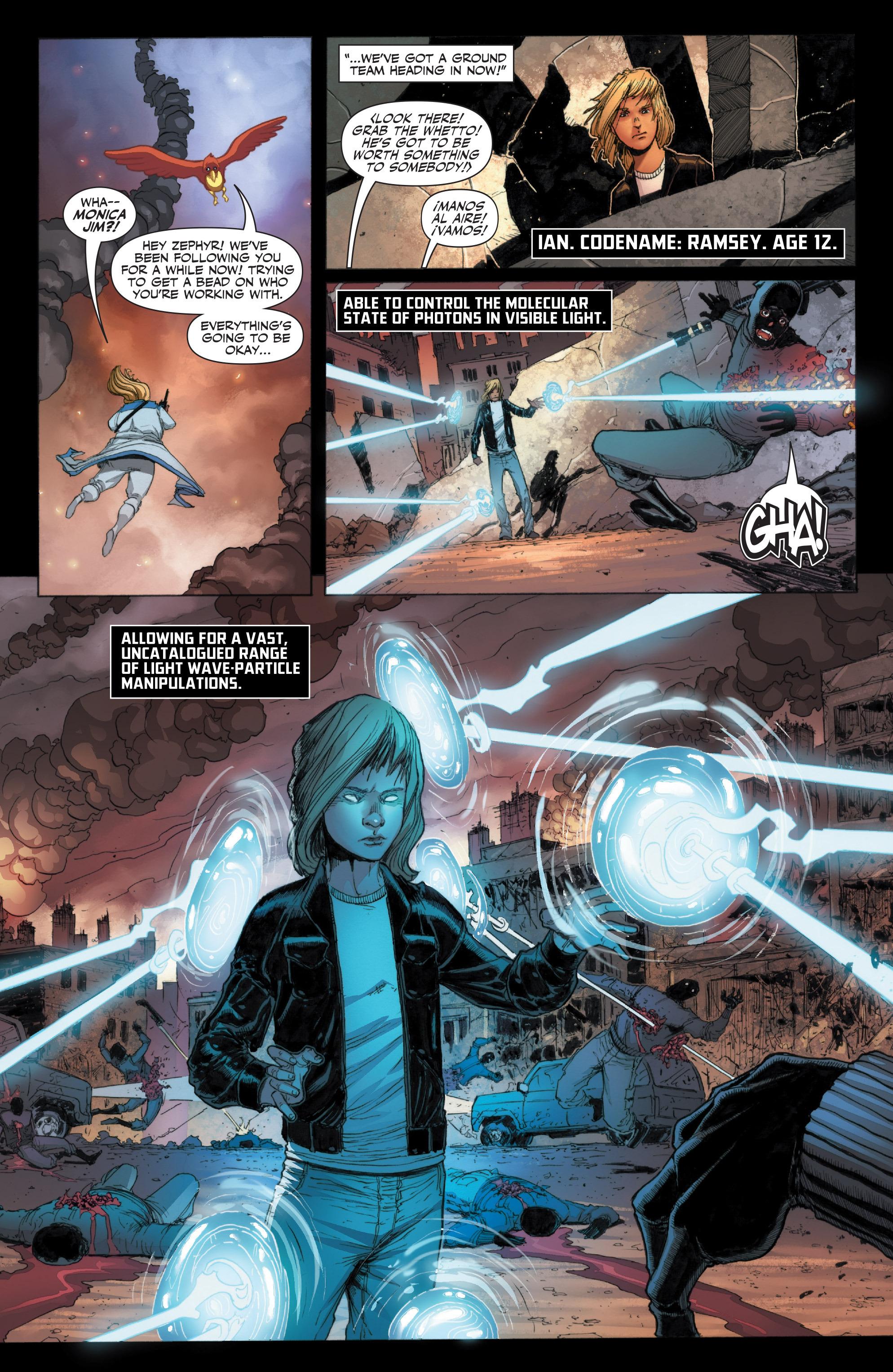 Read online Armor Hunters: Harbinger comic -  Issue # TPB - 20