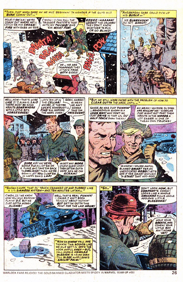 Read online Sgt. Fury comic -  Issue #139 - 28