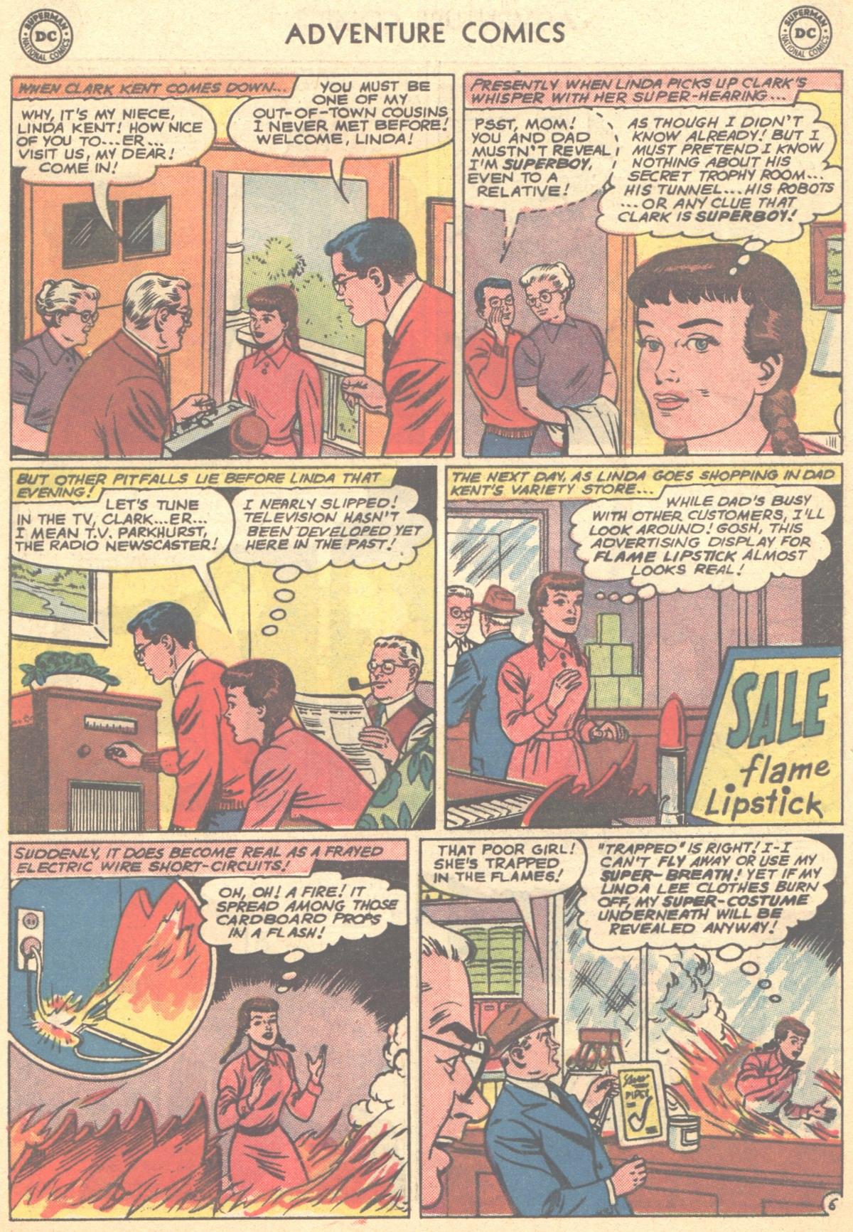 Read online Adventure Comics (1938) comic -  Issue #278 - 8