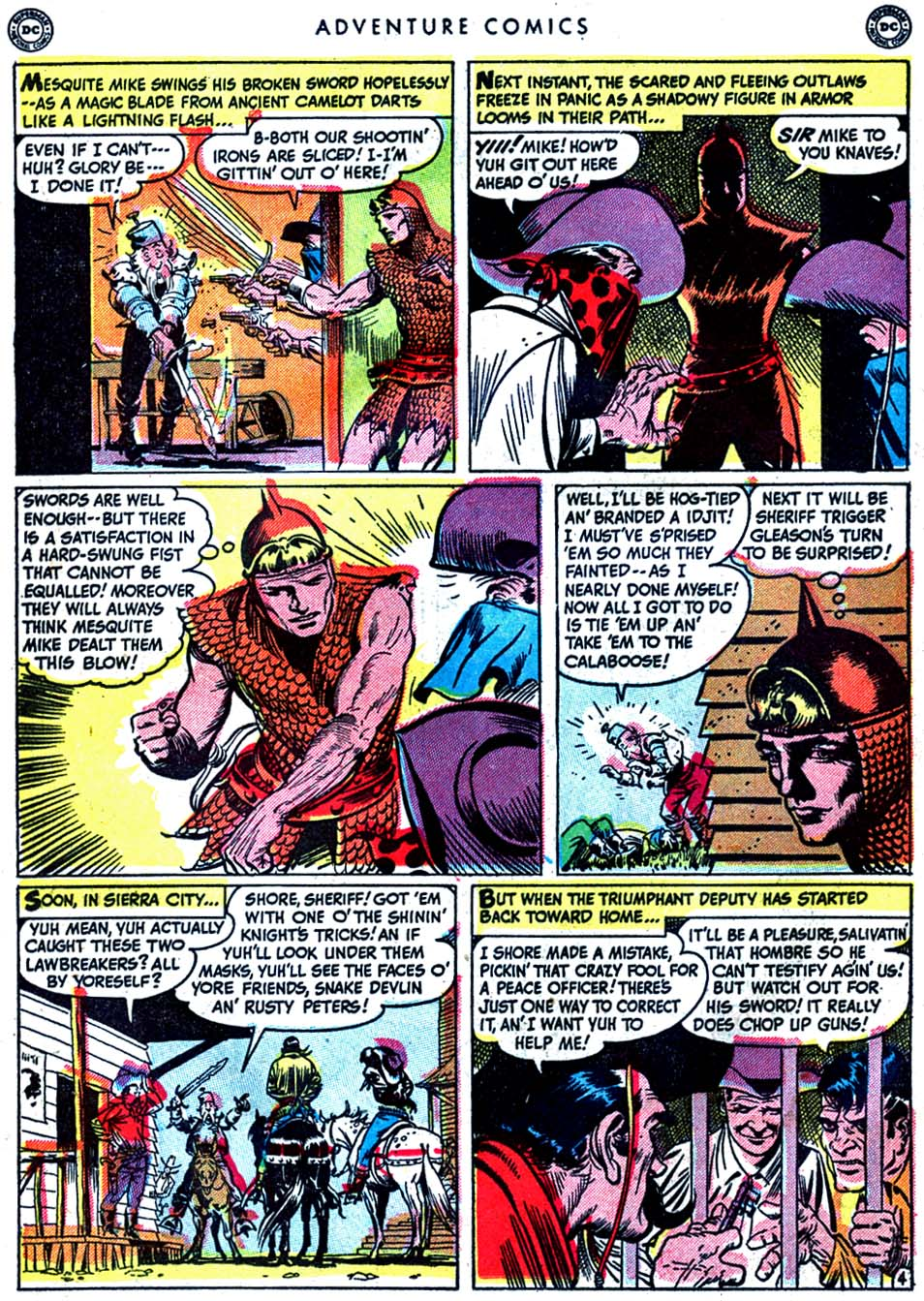 Read online Adventure Comics (1938) comic -  Issue #163 - 20