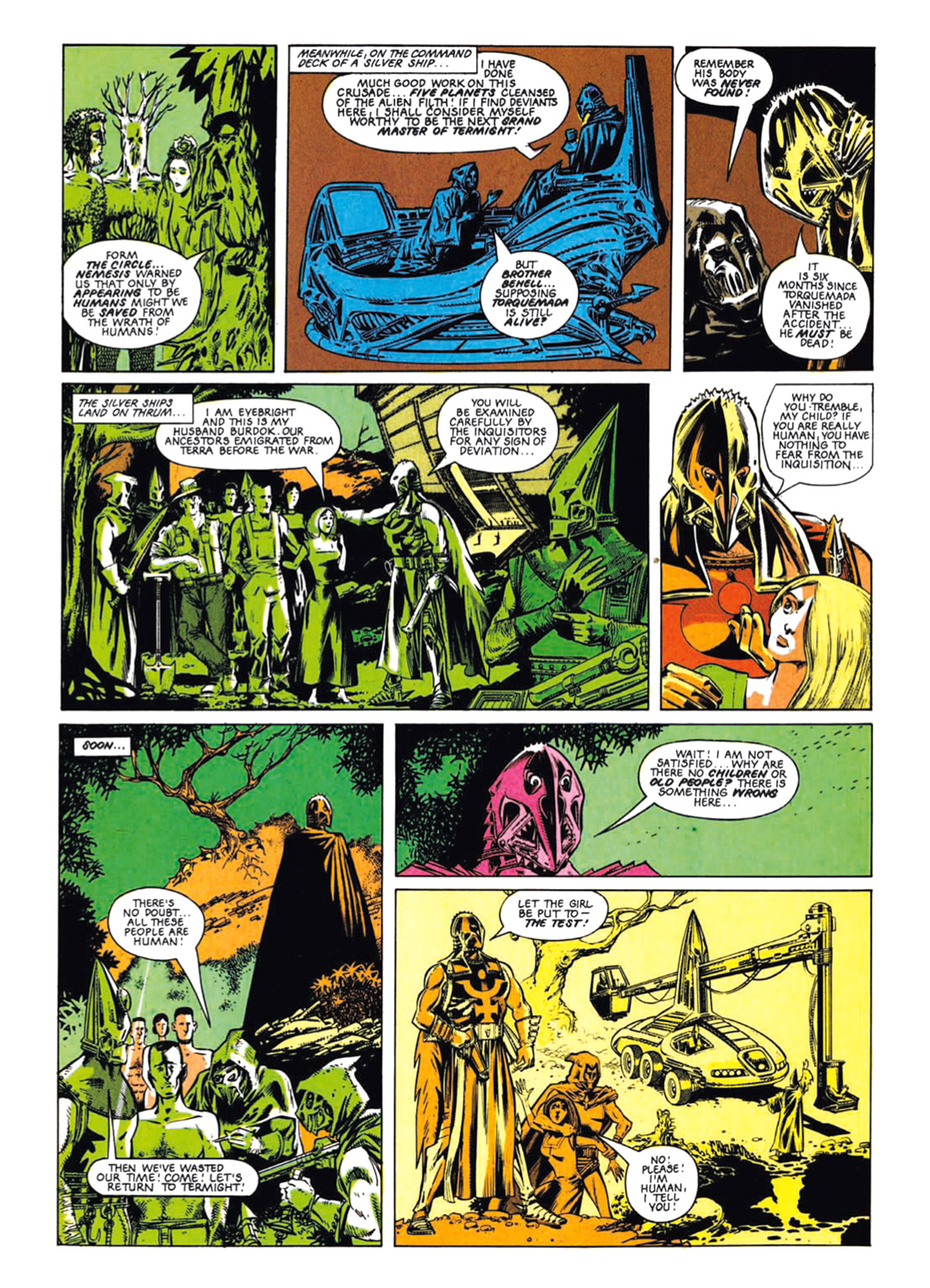 Read online Nemesis The Warlock comic -  Issue # TPB Deviant Edition - 21