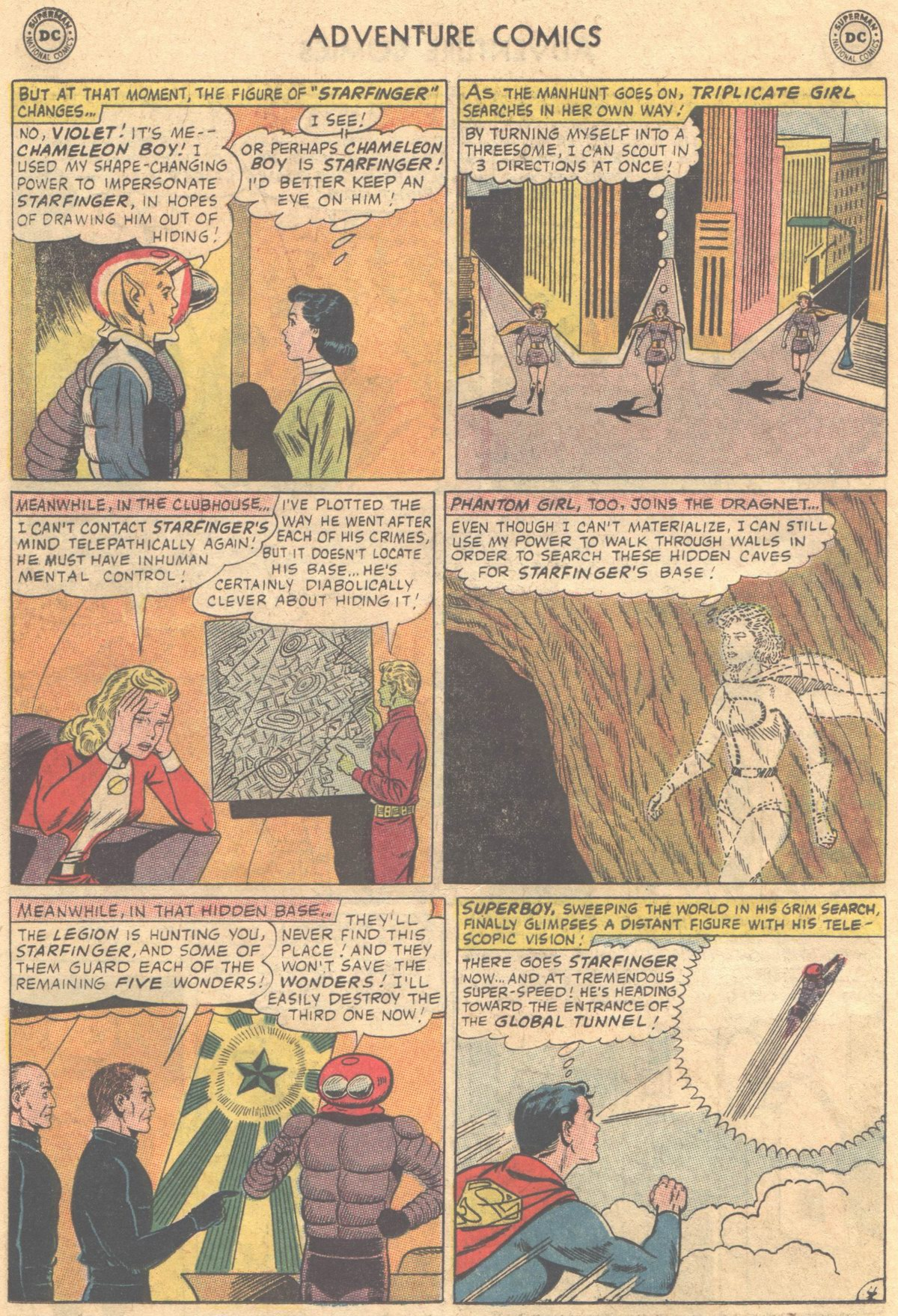 Read online Adventure Comics (1938) comic -  Issue #336 - 7