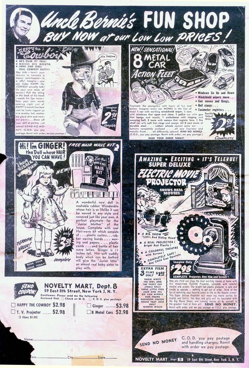 Read online Adventure Comics (1938) comic -  Issue #183 - 2