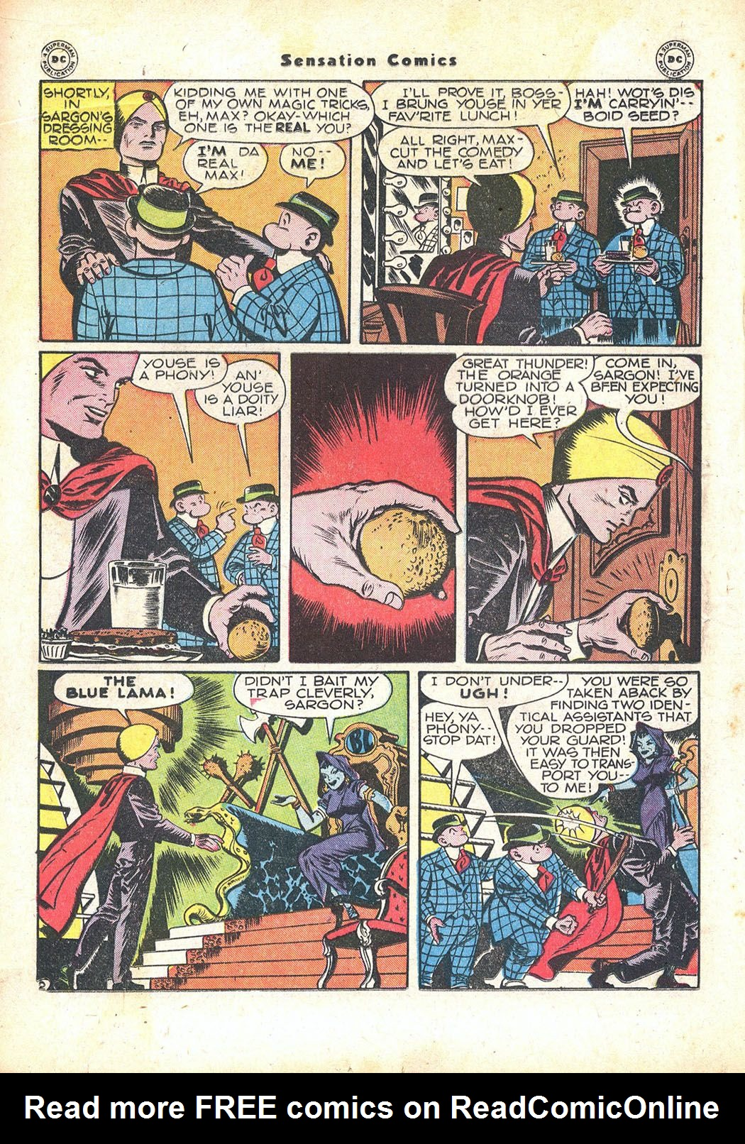 Read online Sensation (Mystery) Comics comic -  Issue #71 - 26