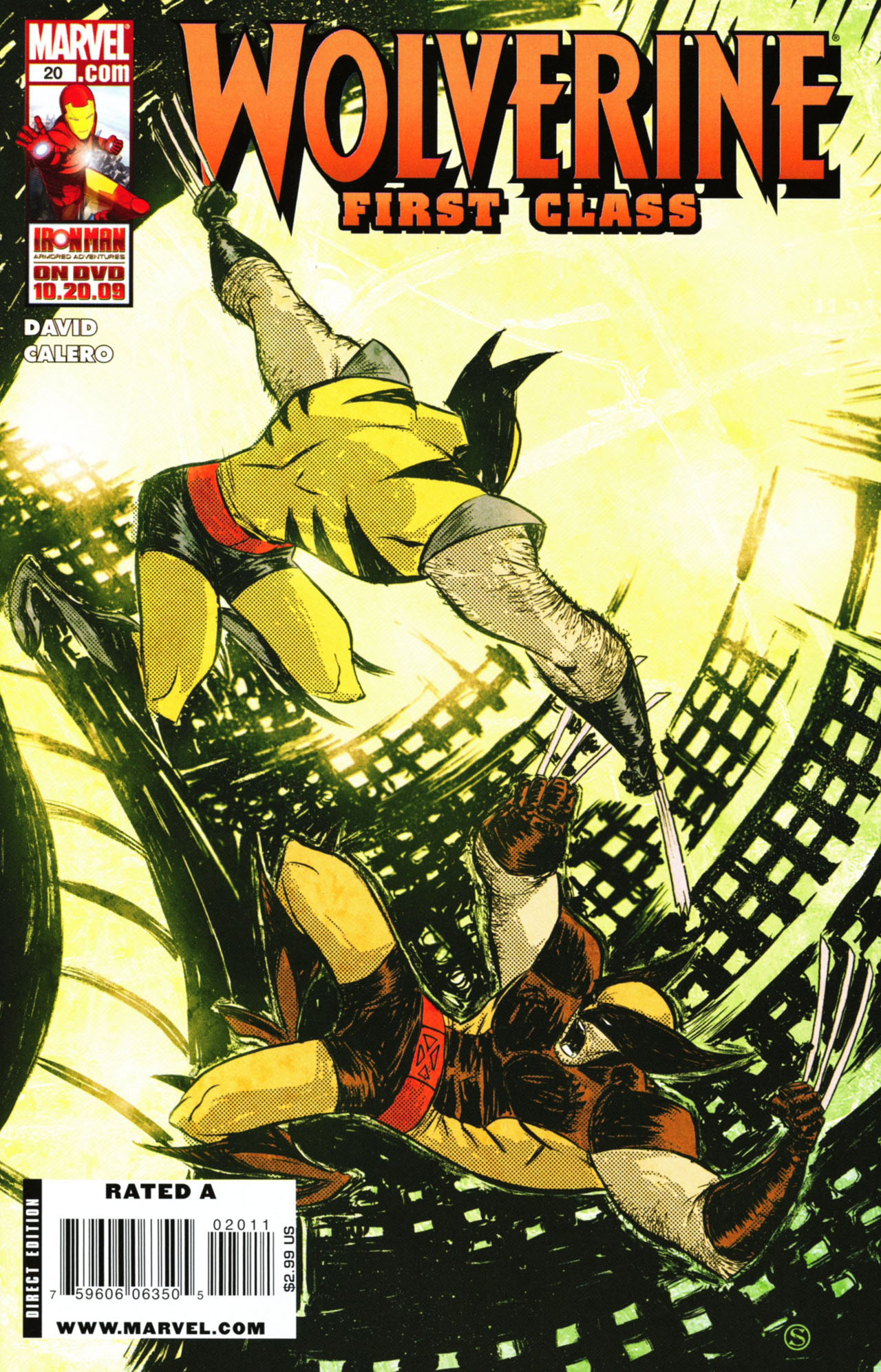 Read online Wolverine: First Class comic -  Issue #20 - 1