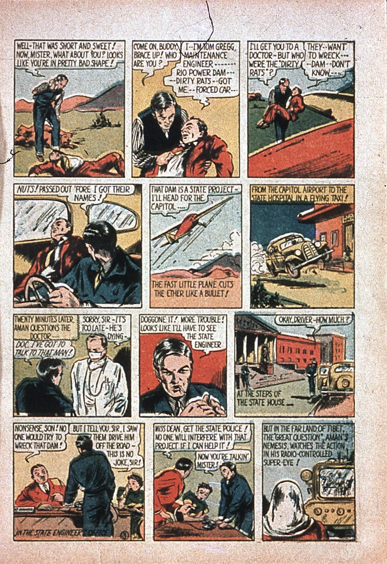 Read online Amazing Man Comics comic -  Issue #7 - 6