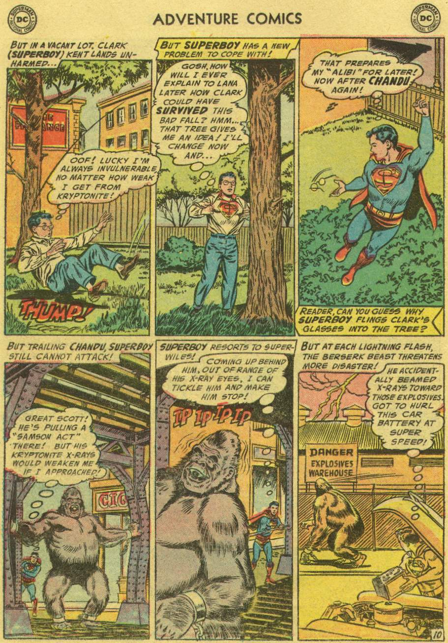 Read online Adventure Comics (1938) comic -  Issue #219 - 12