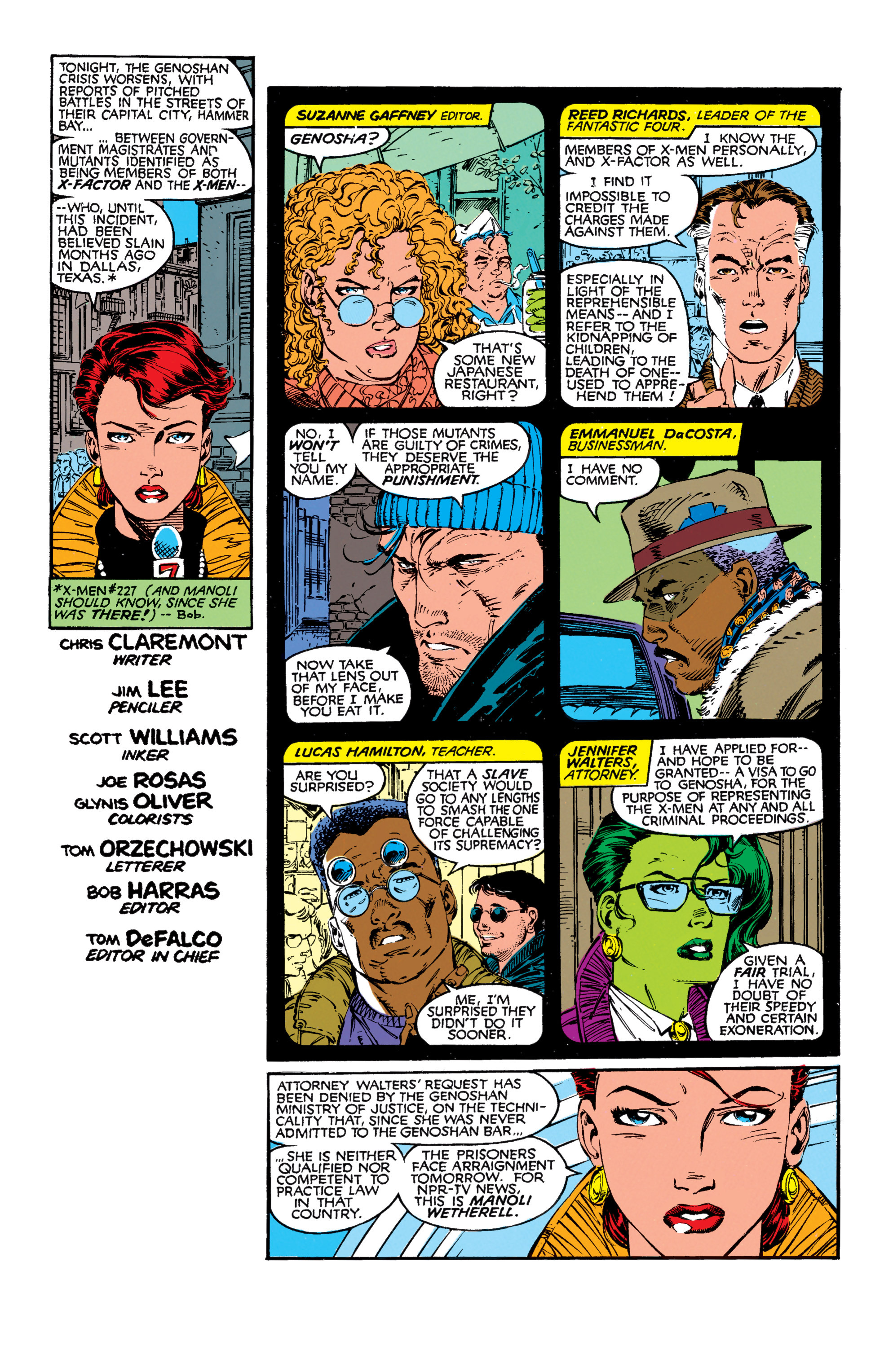 Read online Uncanny X-Men (1963) comic -  Issue #272 - 2