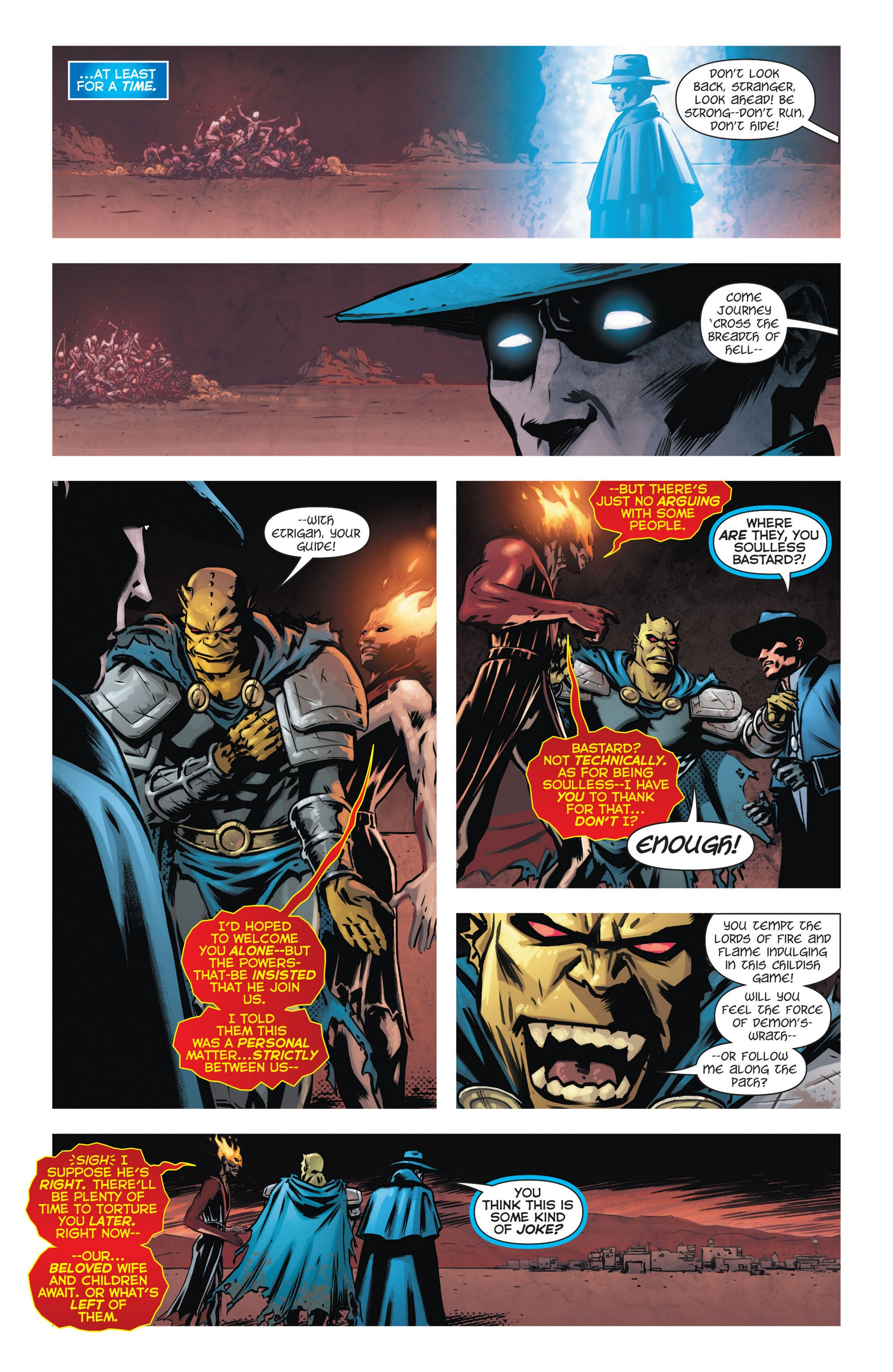 Read online Trinity of Sin: The Phantom Stranger comic -  Issue #9 - 10