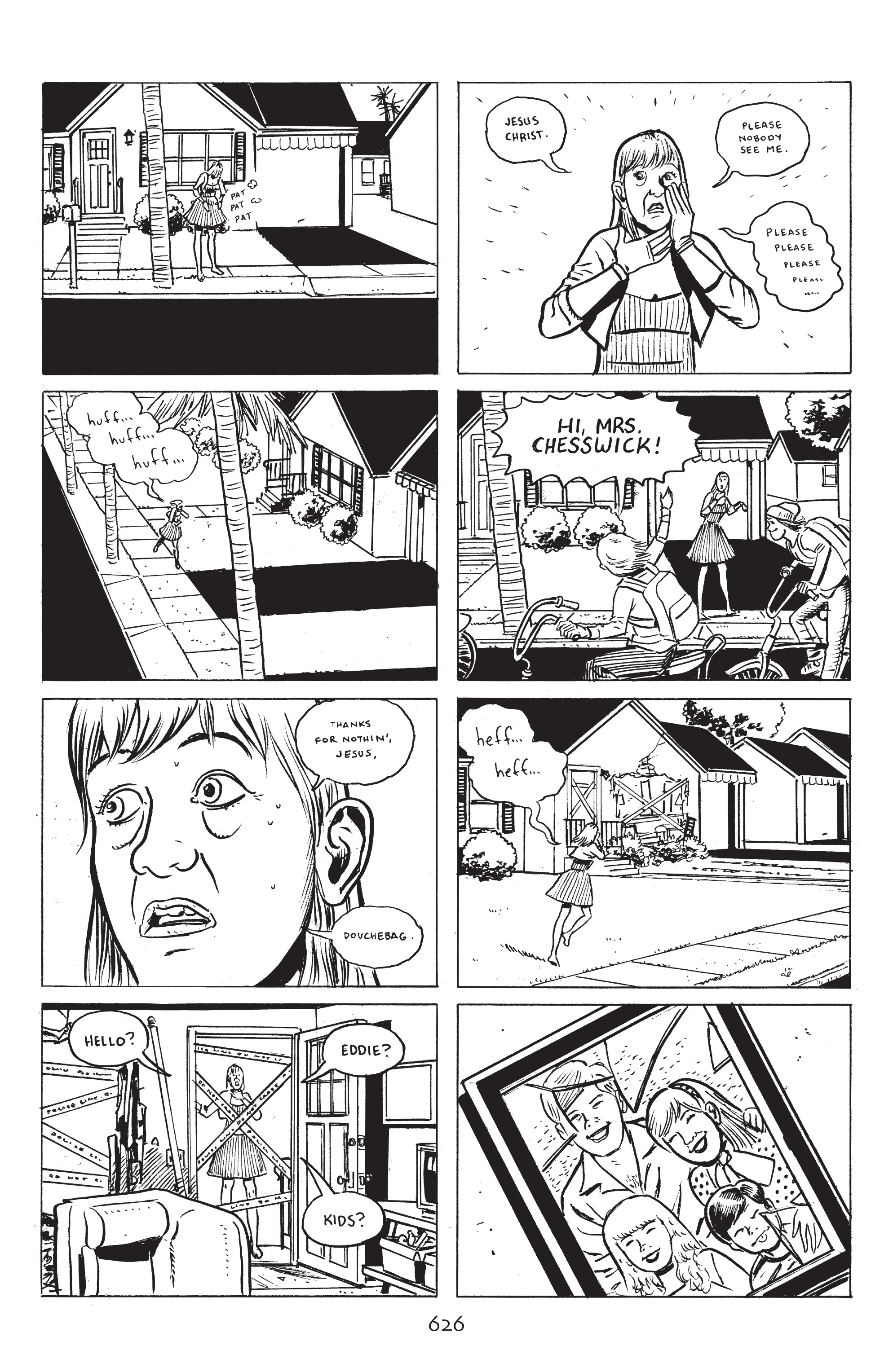 Read online Stray Bullets: Sunshine & Roses comic -  Issue #23 - 9