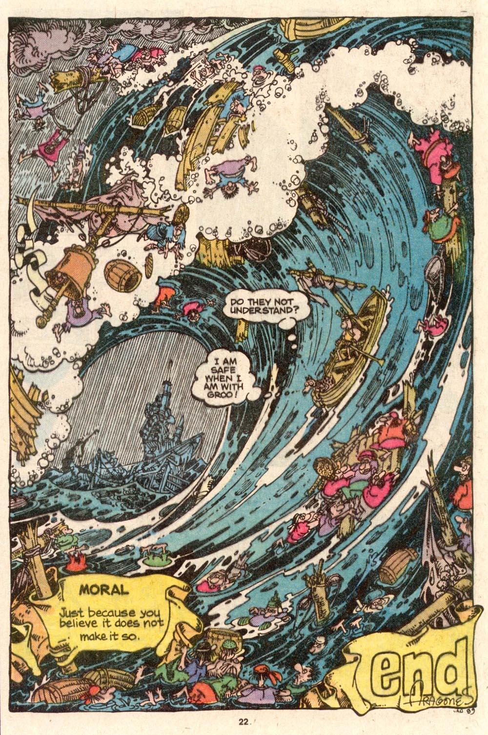 Read online Sergio Aragonés Groo the Wanderer comic -  Issue #54 - 23