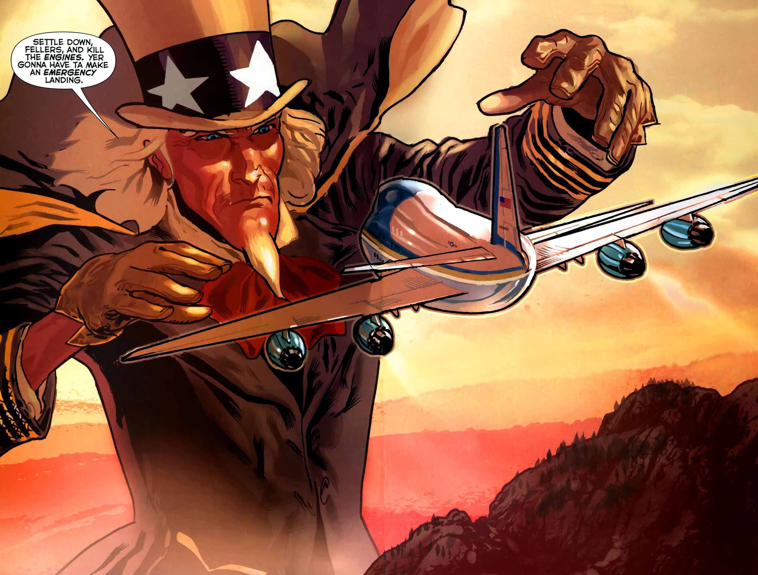 Read online Uncle Sam and the Freedom Fighters (2006) comic -  Issue #4 - 19