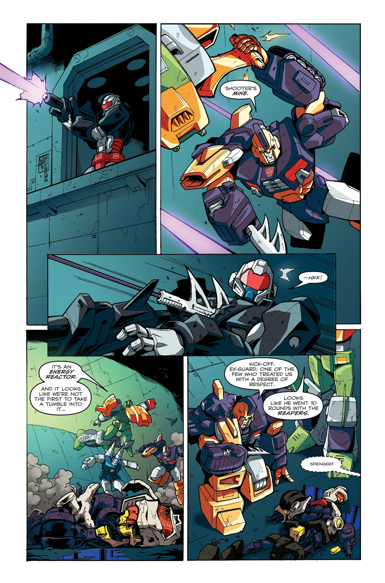 Read online Transformers: Last Stand of The Wreckers comic -  Issue #3 - 14