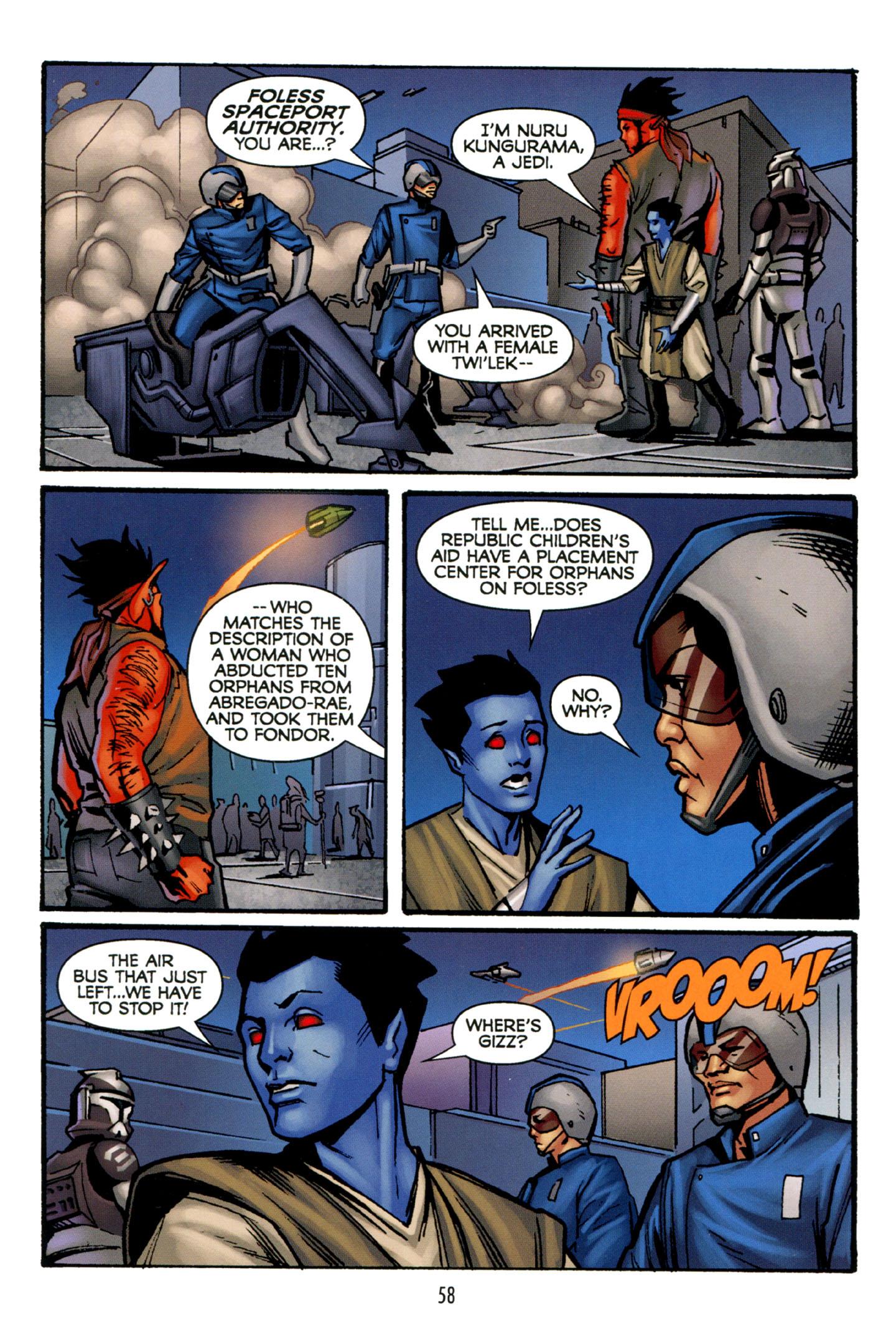 Read online Star Wars: The Clone Wars - Strange Allies comic -  Issue # Full - 59