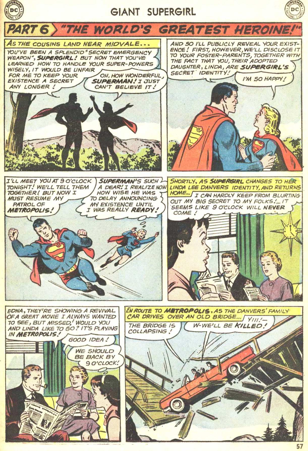 Read online Action Comics (1938) comic -  Issue #360 - 56