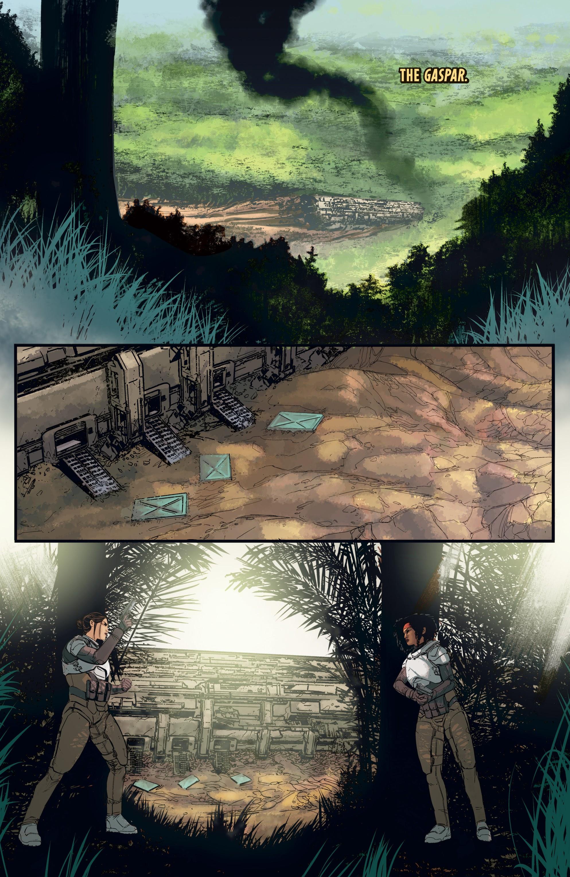 Read online Aliens: Resistance comic -  Issue # _TPB - 56