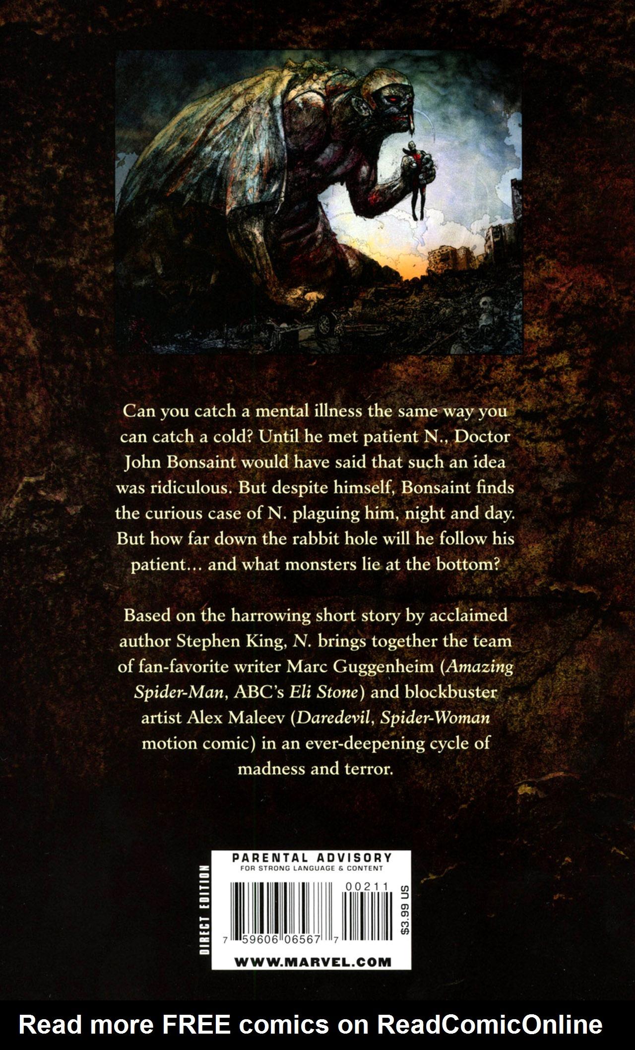 Read online Stephen King's N. comic -  Issue #2 - 36