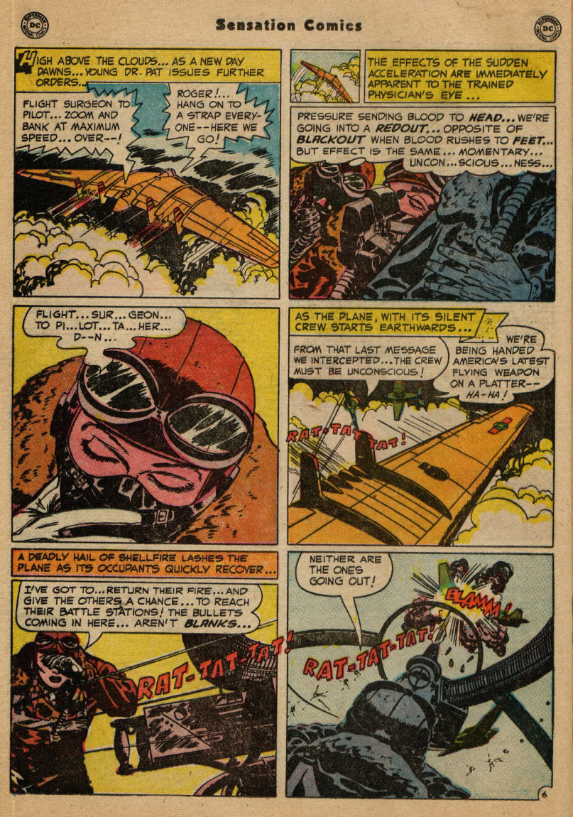 Read online Sensation (Mystery) Comics comic -  Issue #100 - 22