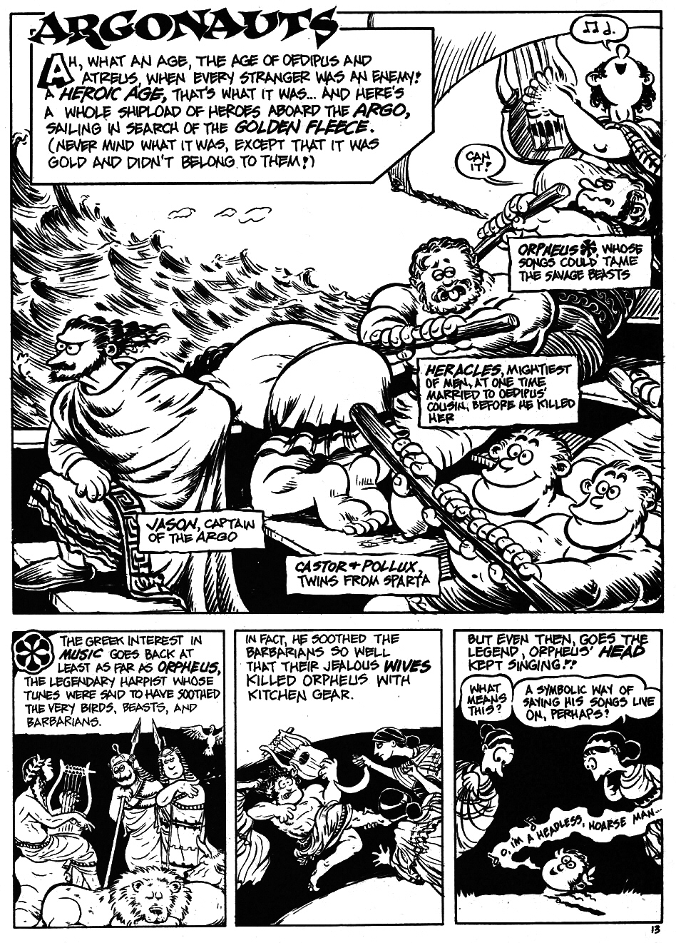 Read online The Cartoon History of the Universe comic -  Issue #5 - 15