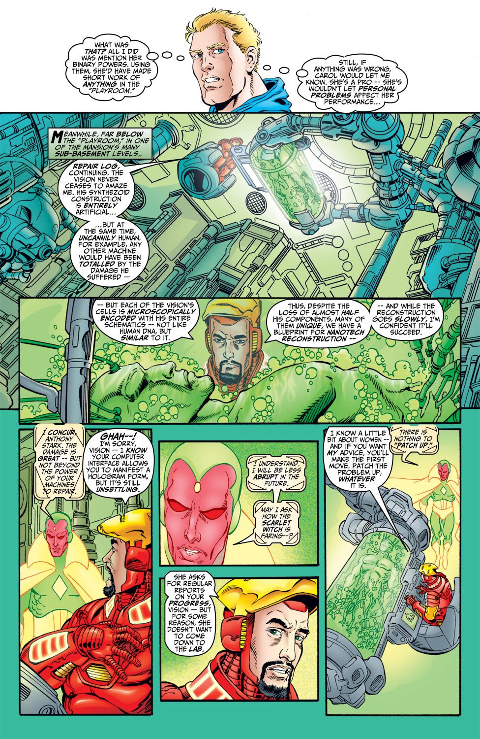 Read online Avengers (1998) comic -  Issue #5 - 5