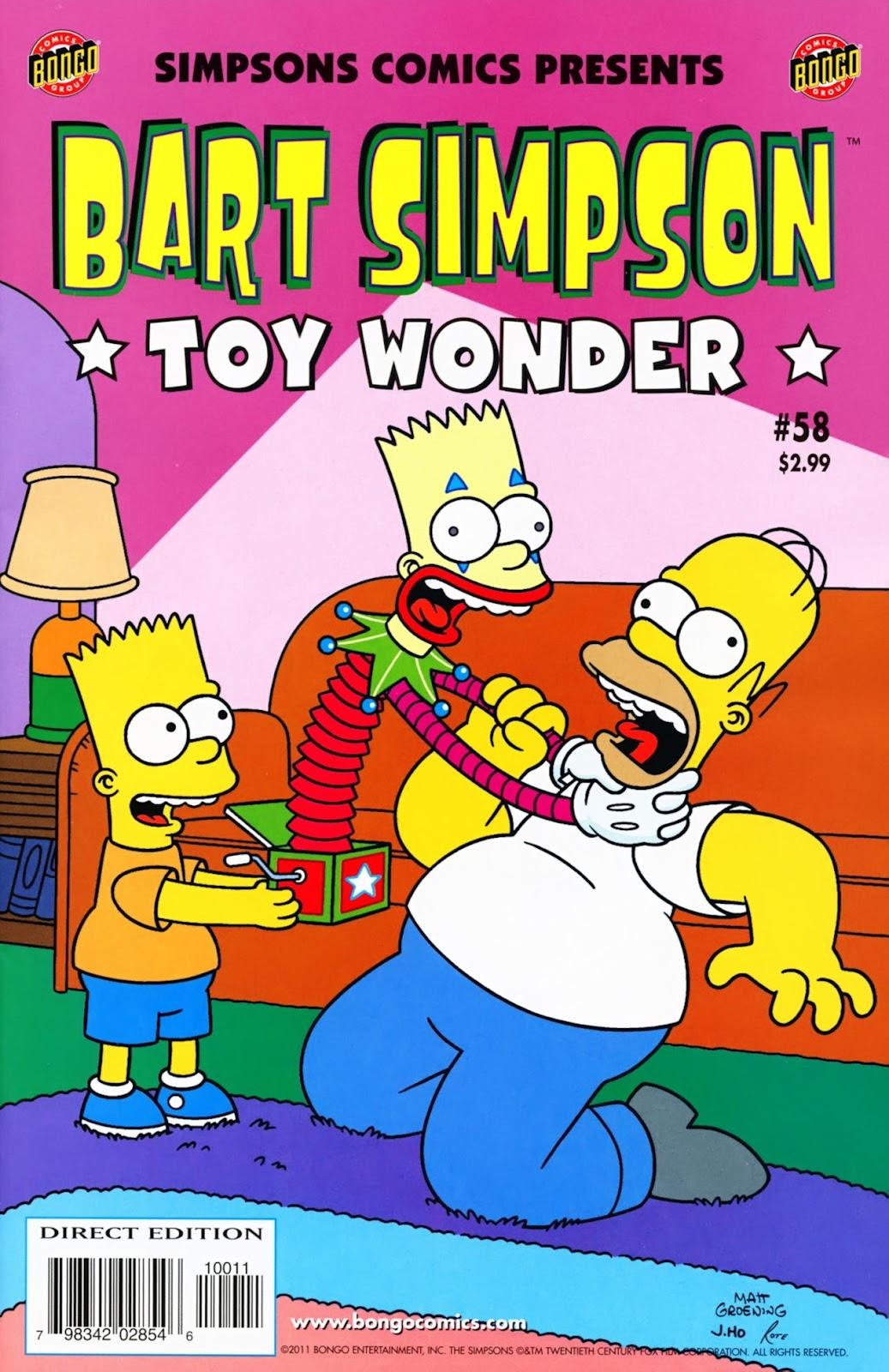 Simpsons Comics Presents Bart Simpson 58 Page 1