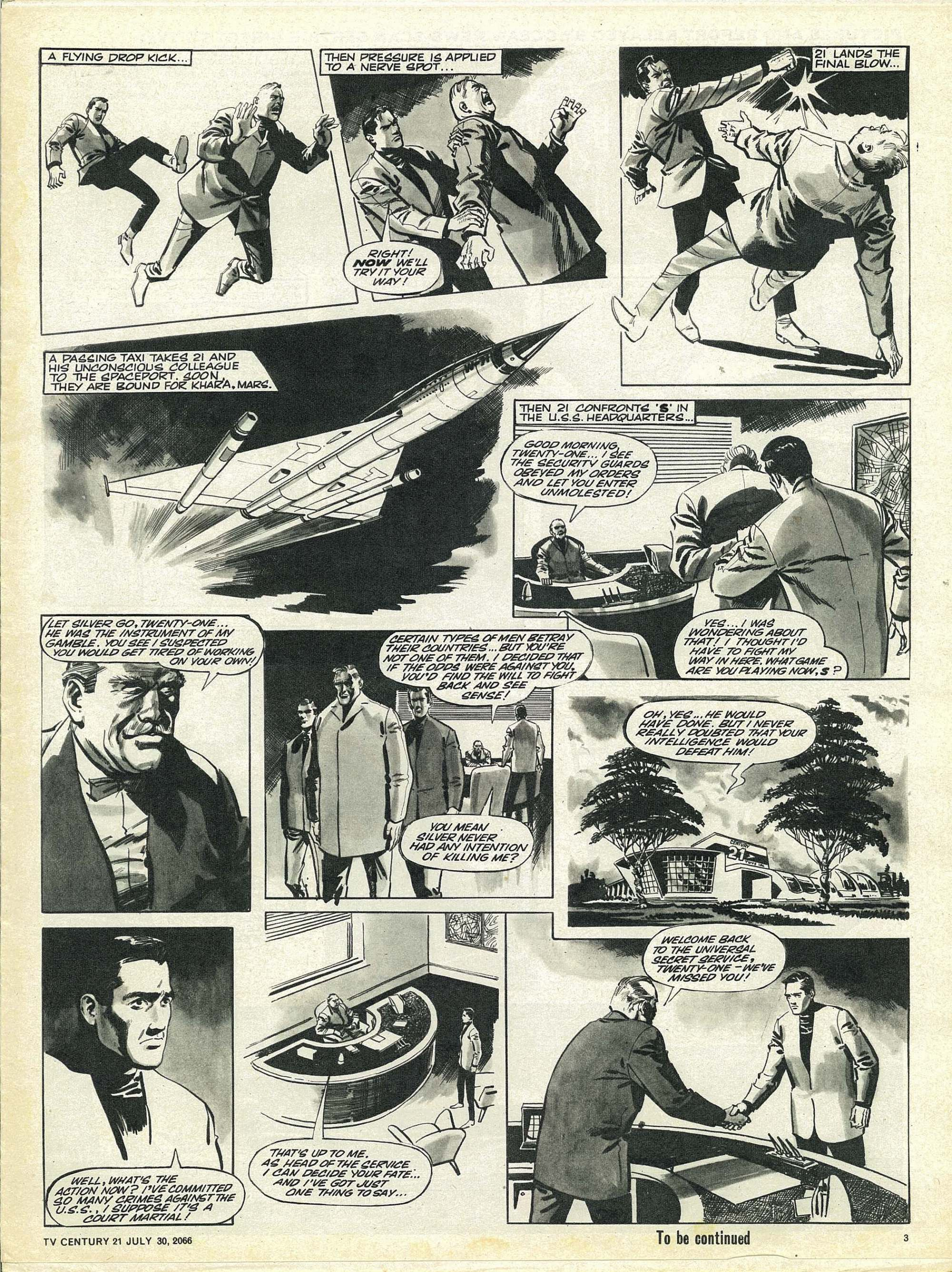 Read online TV Century 21 (TV 21) comic -  Issue #80 - 3