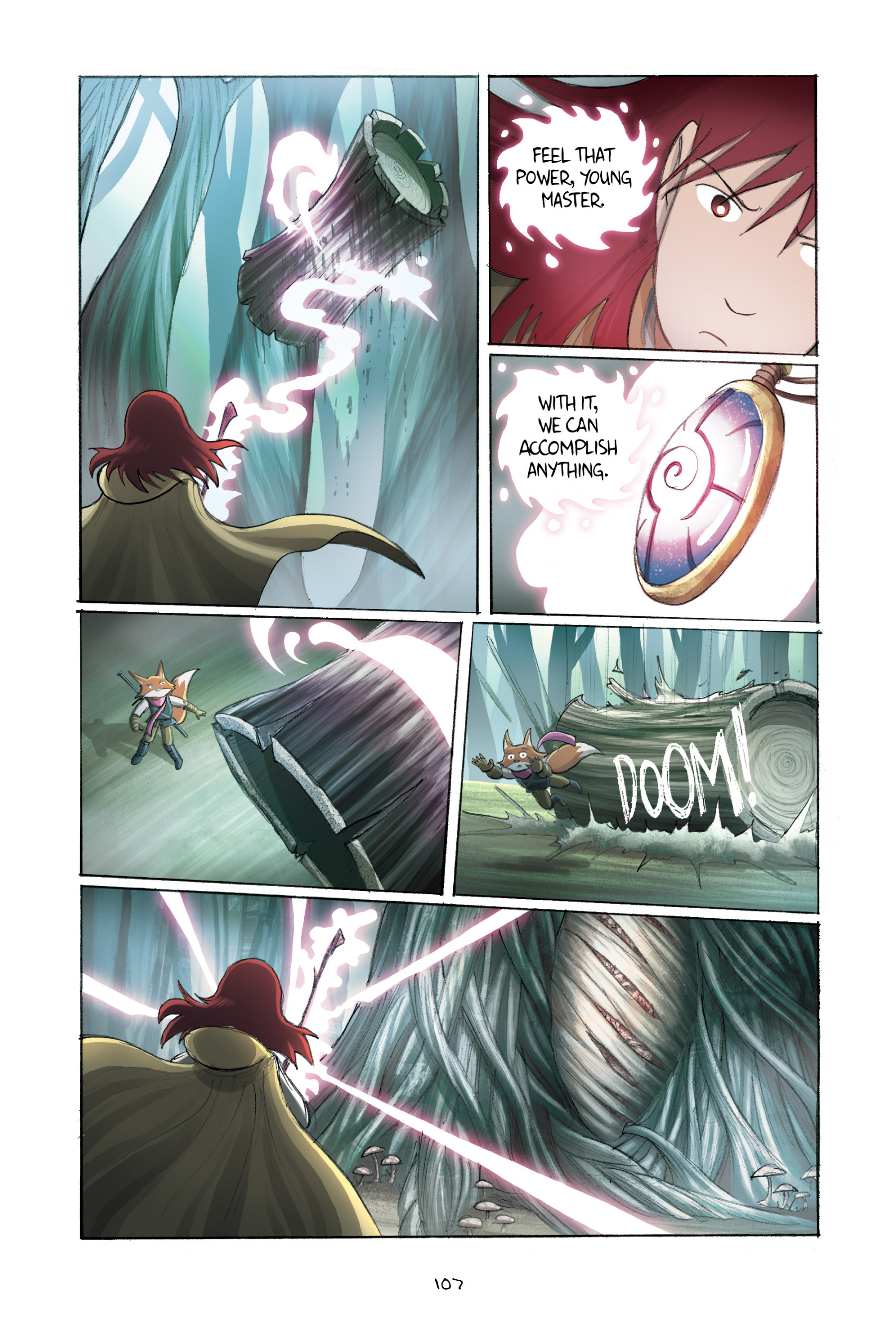 Read online Amulet comic -  Issue #2 - 107