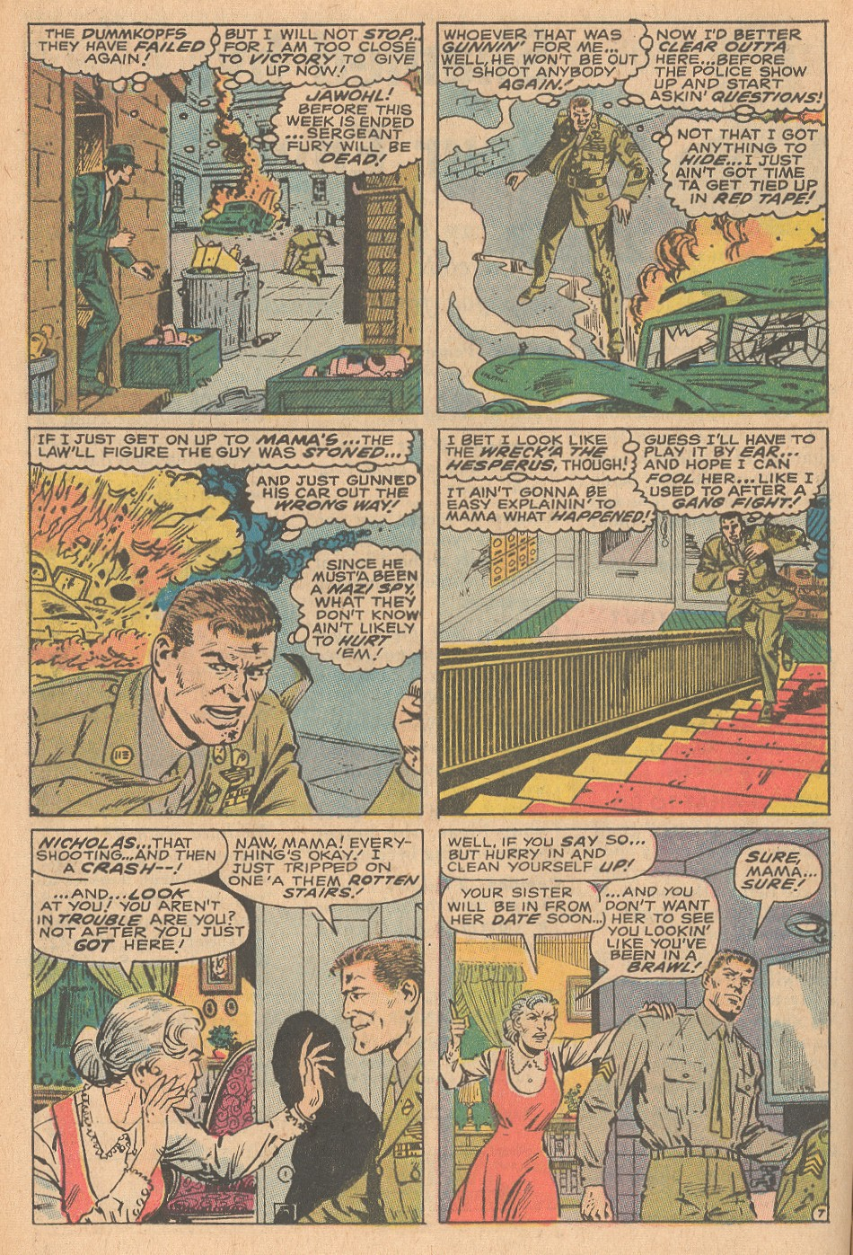 Read online Sgt. Fury comic -  Issue #68 - 12