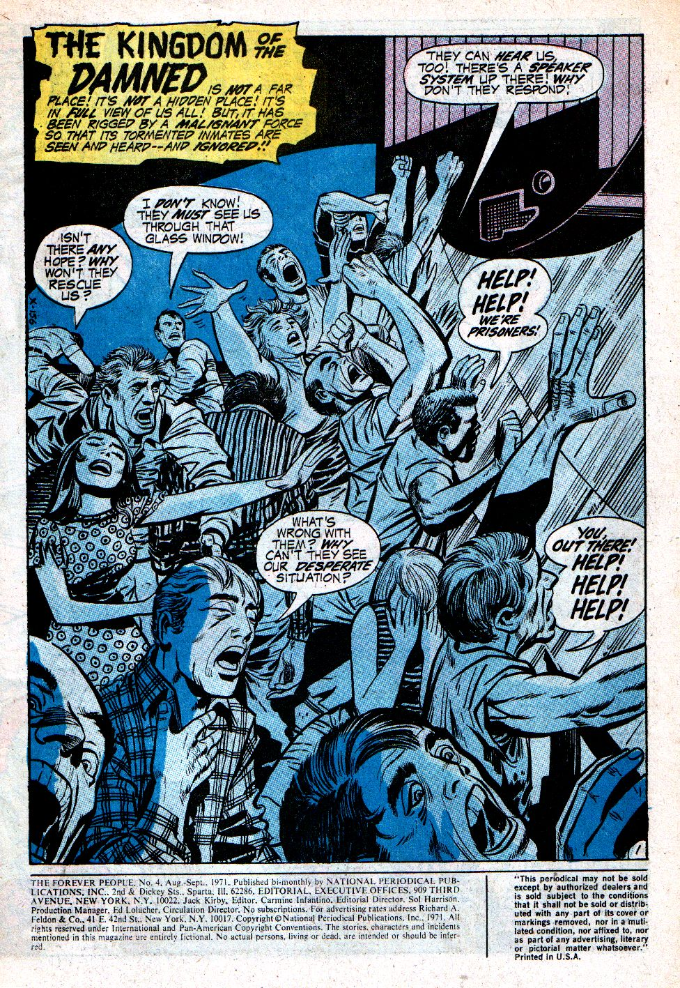 Forever People (1971) issue 4 - Page 3