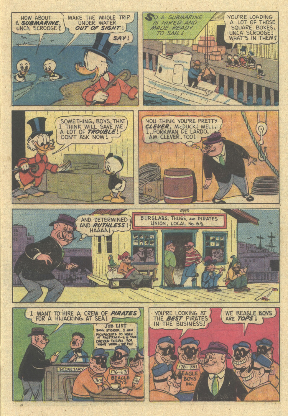 Read online Uncle Scrooge (1953) comic -  Issue #174 - 9