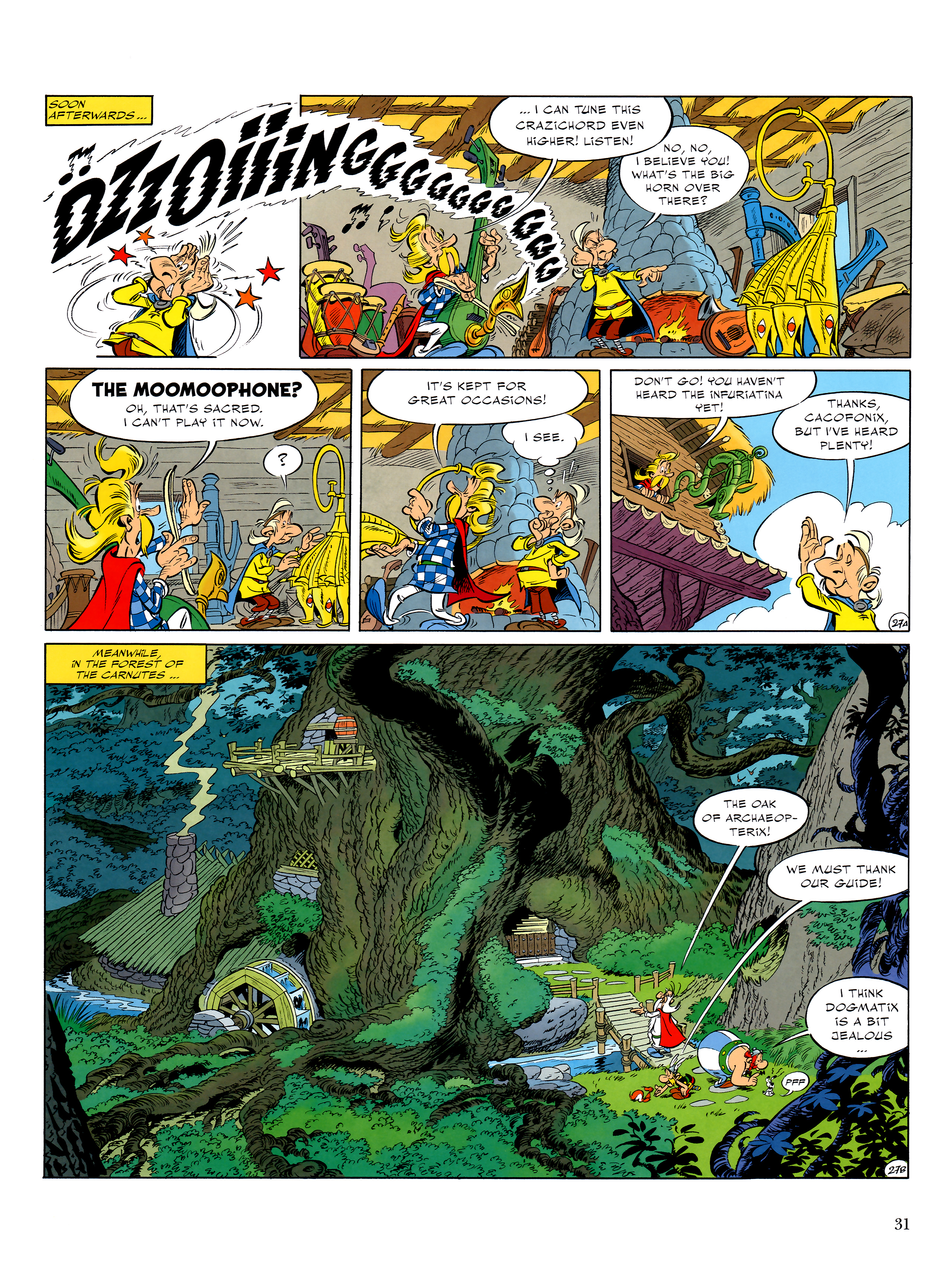 Read online Asterix comic -  Issue #36 - 32