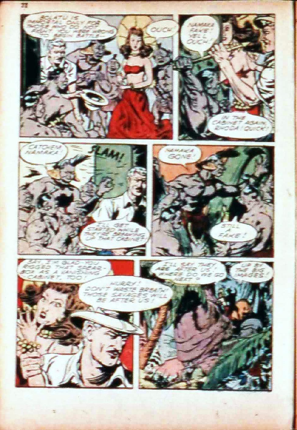 Read online Super-Magician Comics comic -  Issue #17 - 30