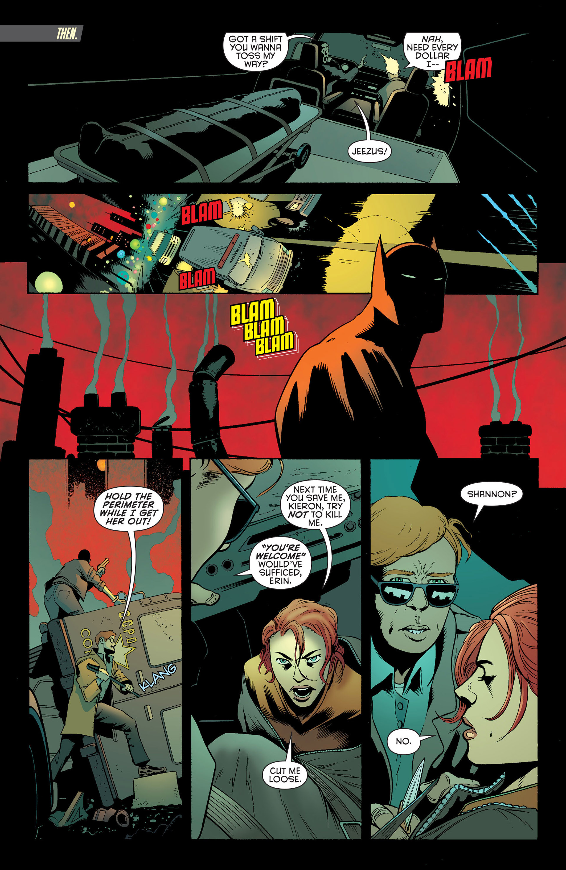 Read online Batman and Robin (2011) comic -  Issue #25 - Batman and Two-Face - 7