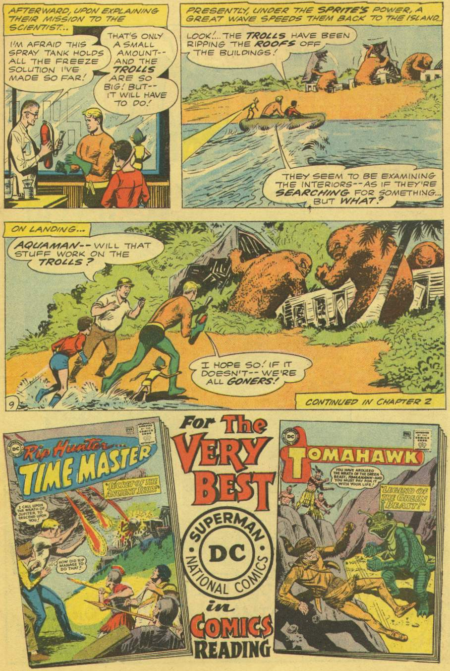 Read online Aquaman (1962) comic -  Issue #1 - 11