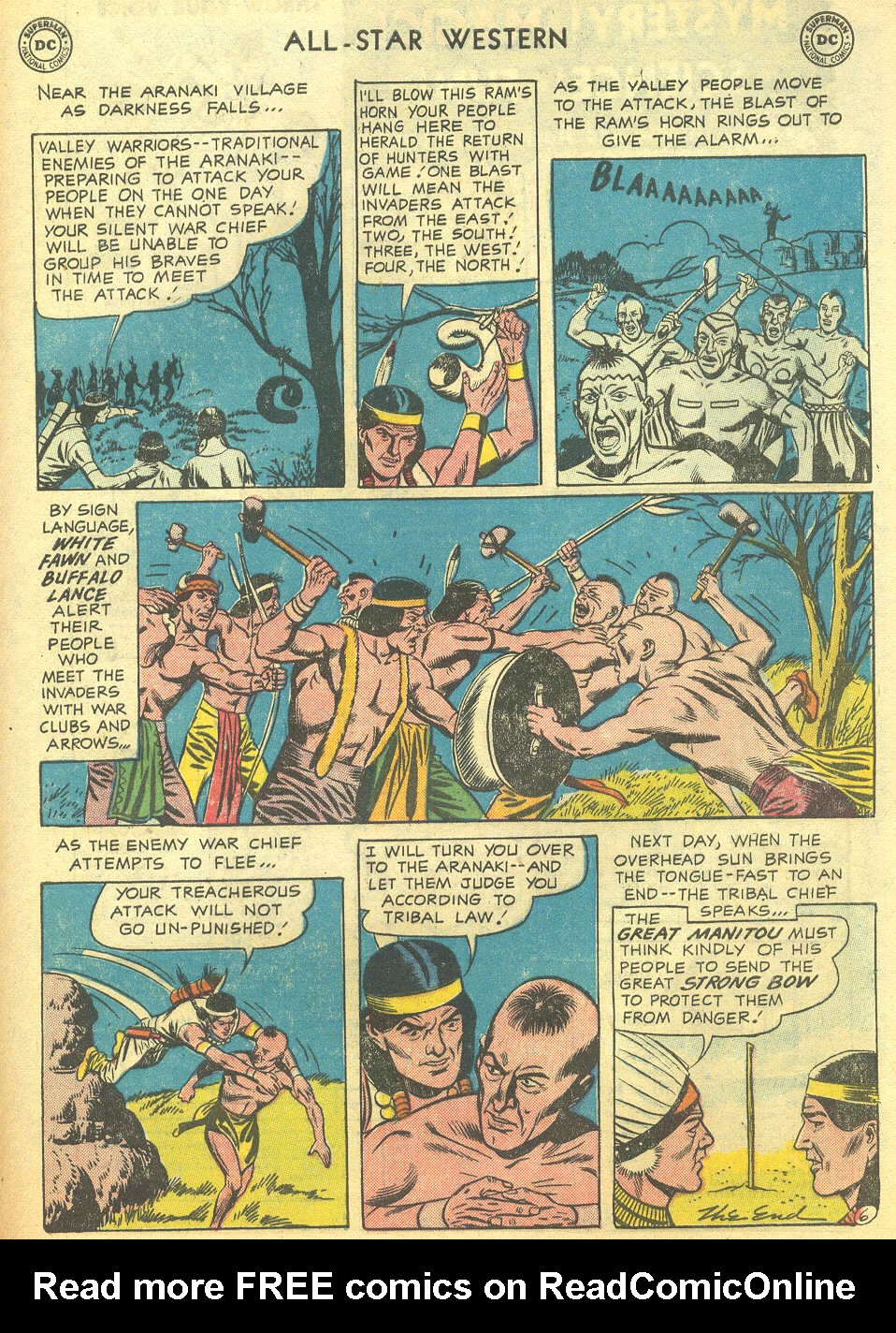Read online All-Star Western (1951) comic -  Issue #95 - 33