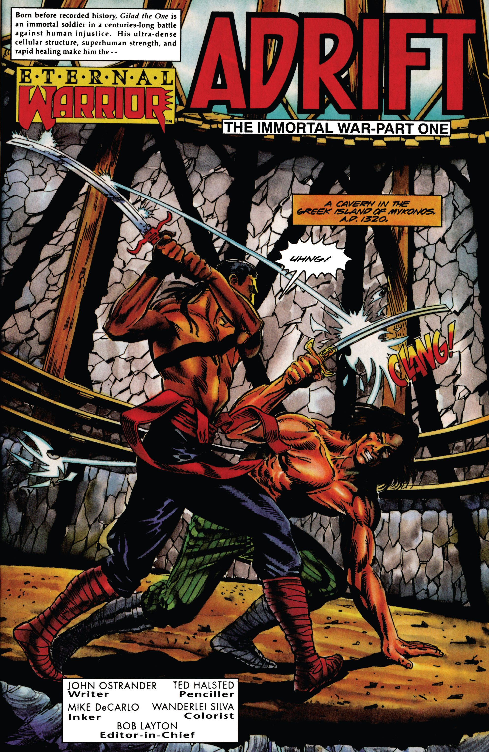 Read online Eternal Warrior (1992) comic -  Issue #28 - 2