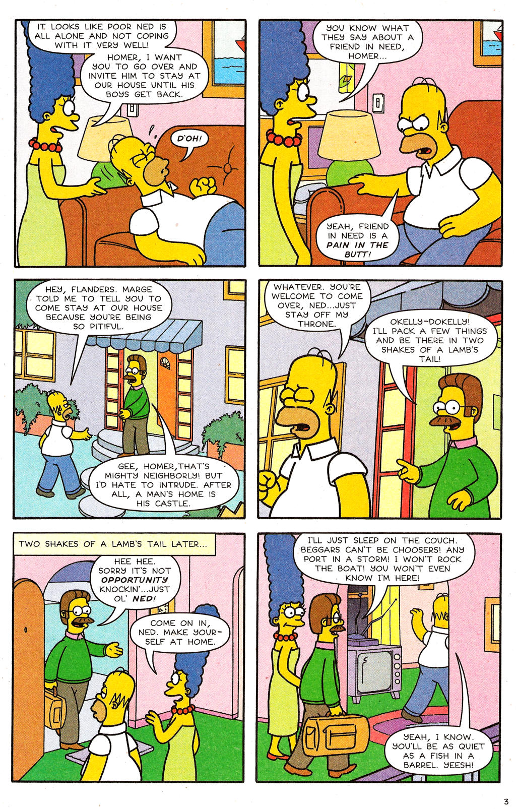 Read online Simpsons Comics comic -  Issue #124 - 4