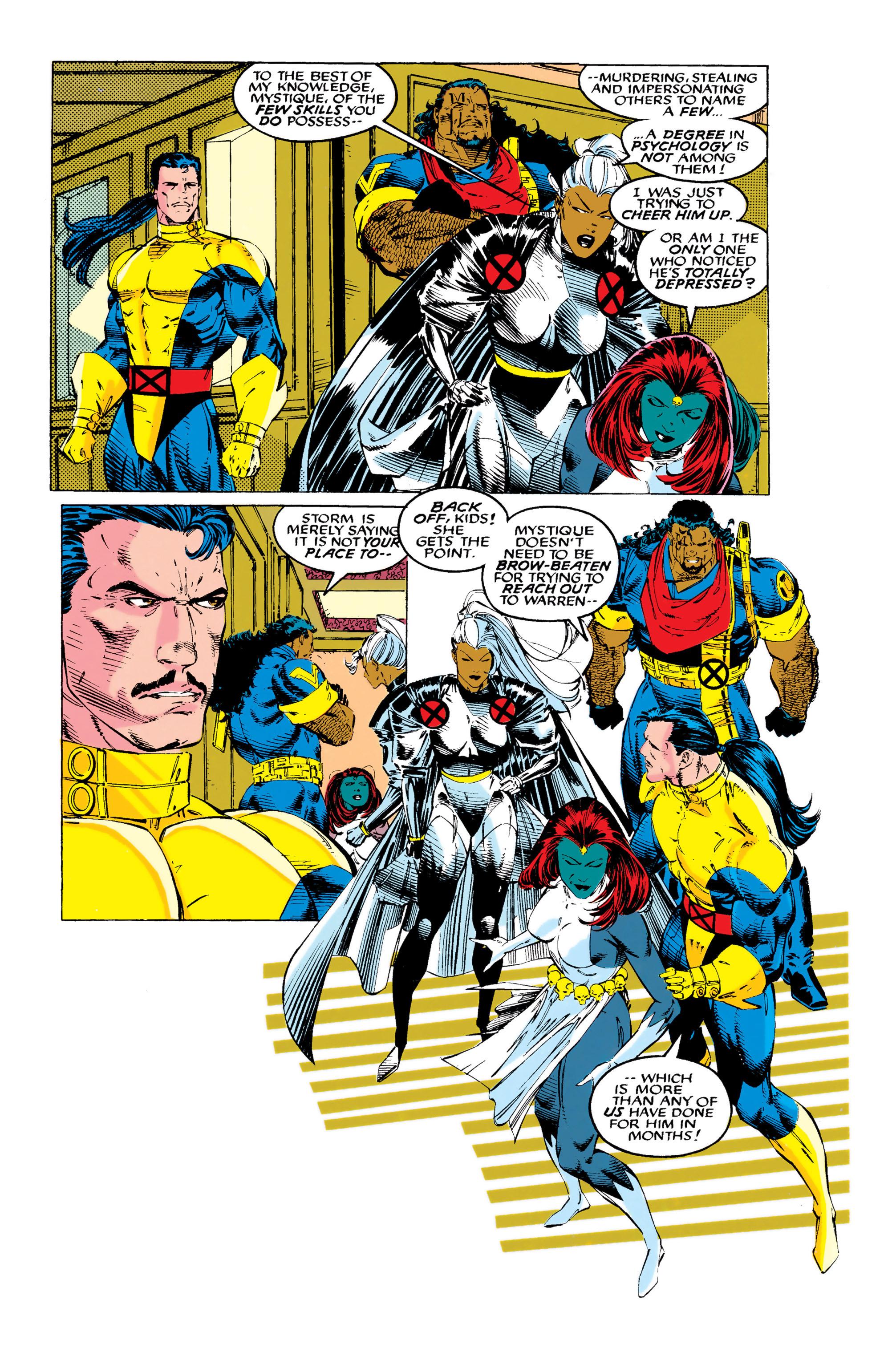 Read online Uncanny X-Men (1963) comic -  Issue #289 - 13
