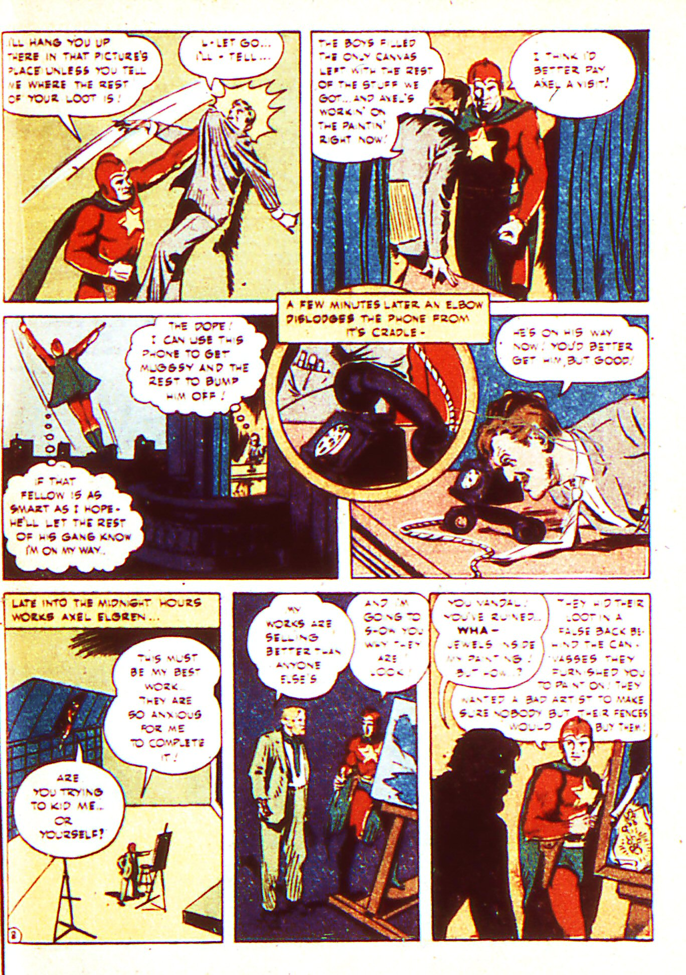 Read online Adventure Comics (1938) comic -  Issue #87 - 38