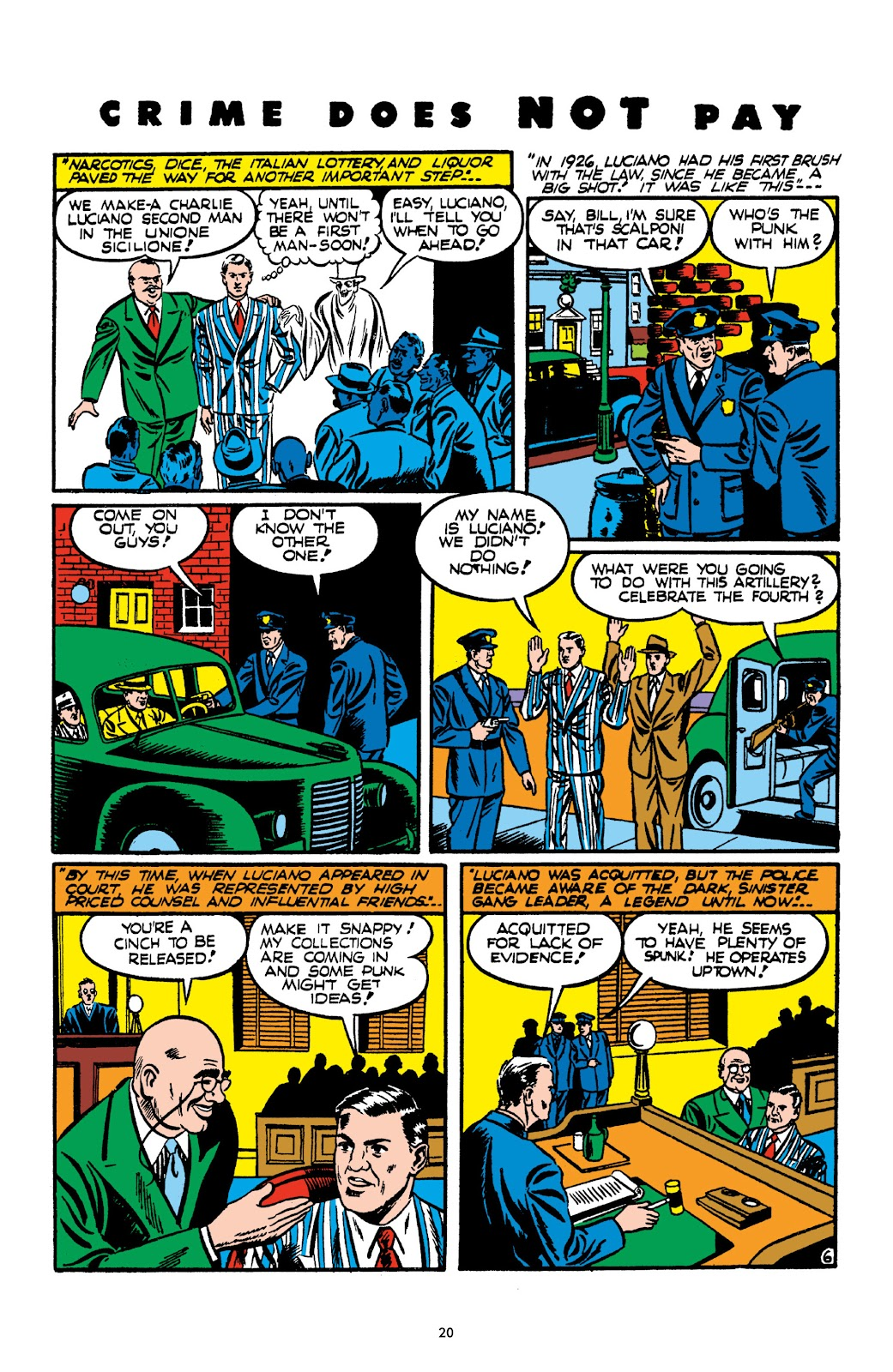 Read online Crime Does Not Pay Archives comic -  Issue # TPB 2 (Part 1) - 20