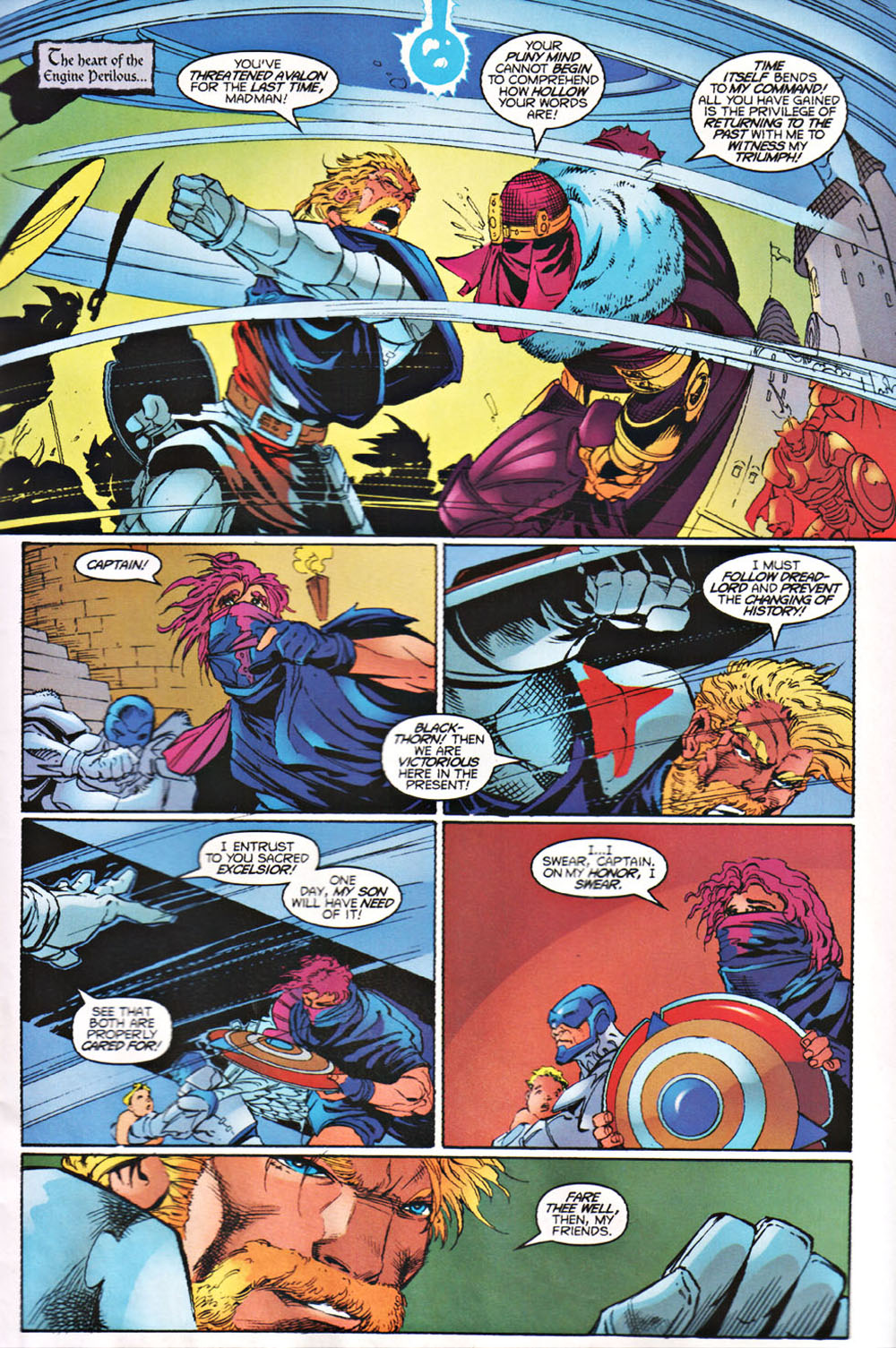 Read online Avataars: Covenant of the Shield comic -  Issue #3 - 19