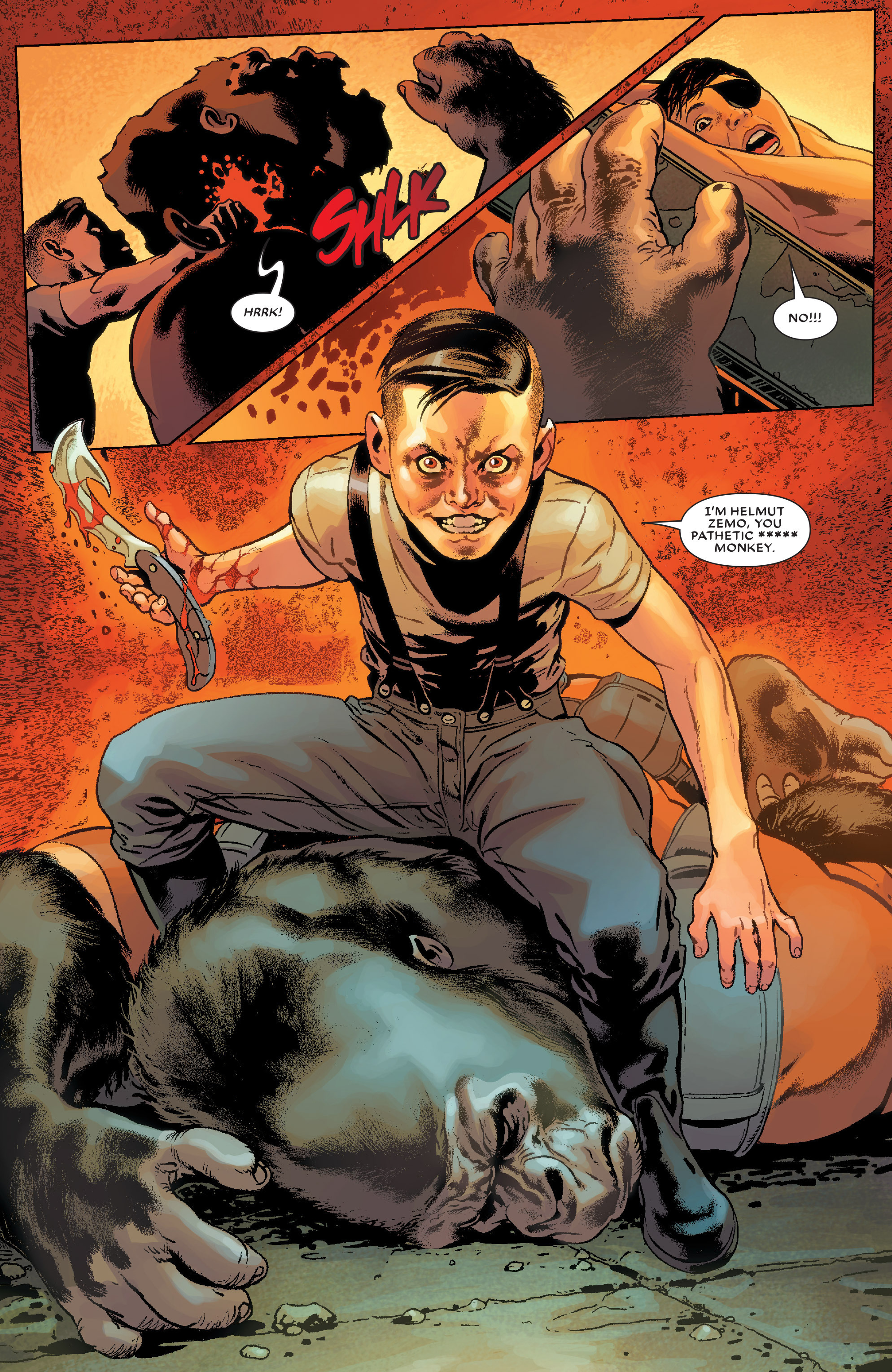 Read online Secret Wars Journal/Battleworld comic -  Issue # TPB - 109