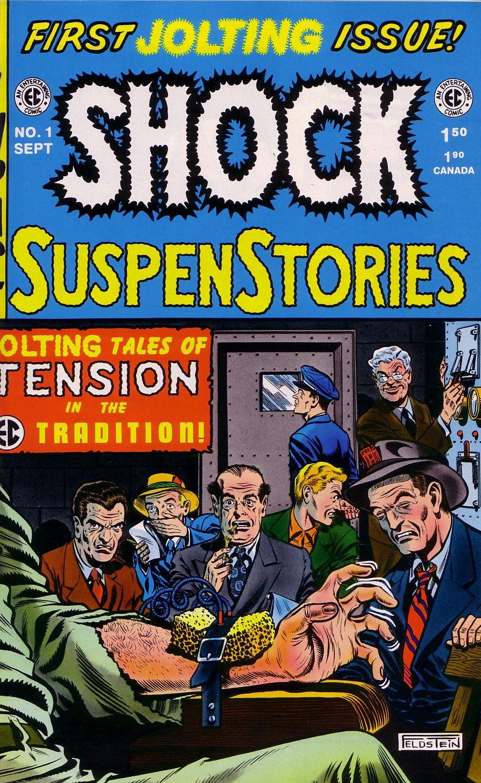 Read online Shock SuspenStories comic -  Issue #1 - 1